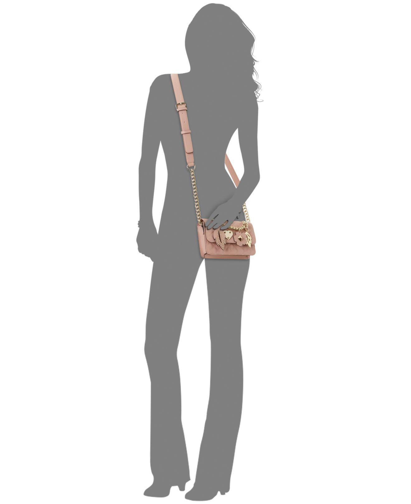 1547b54aad Lyst - Guess Stassie Mini Flap Crossbody