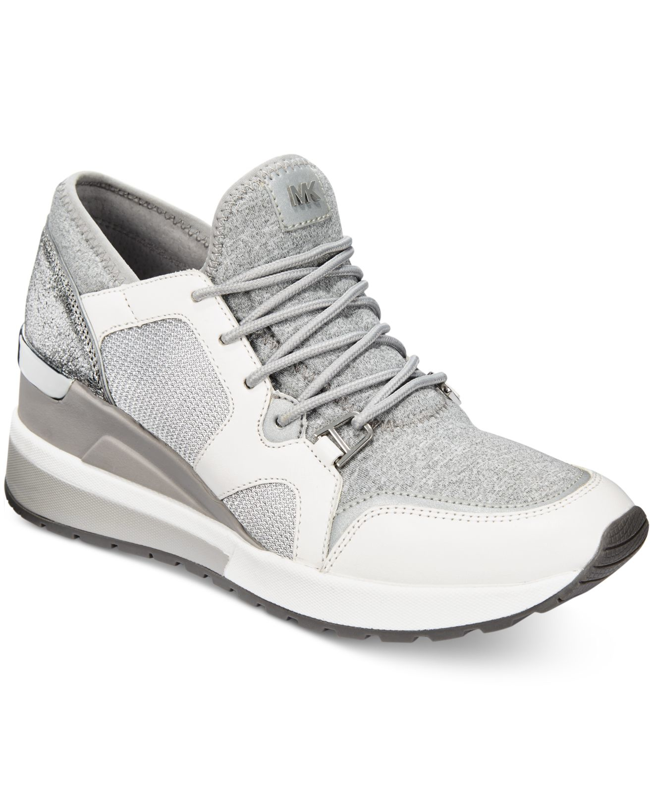Michael kors michael scout athletic sneakers in gray lyst