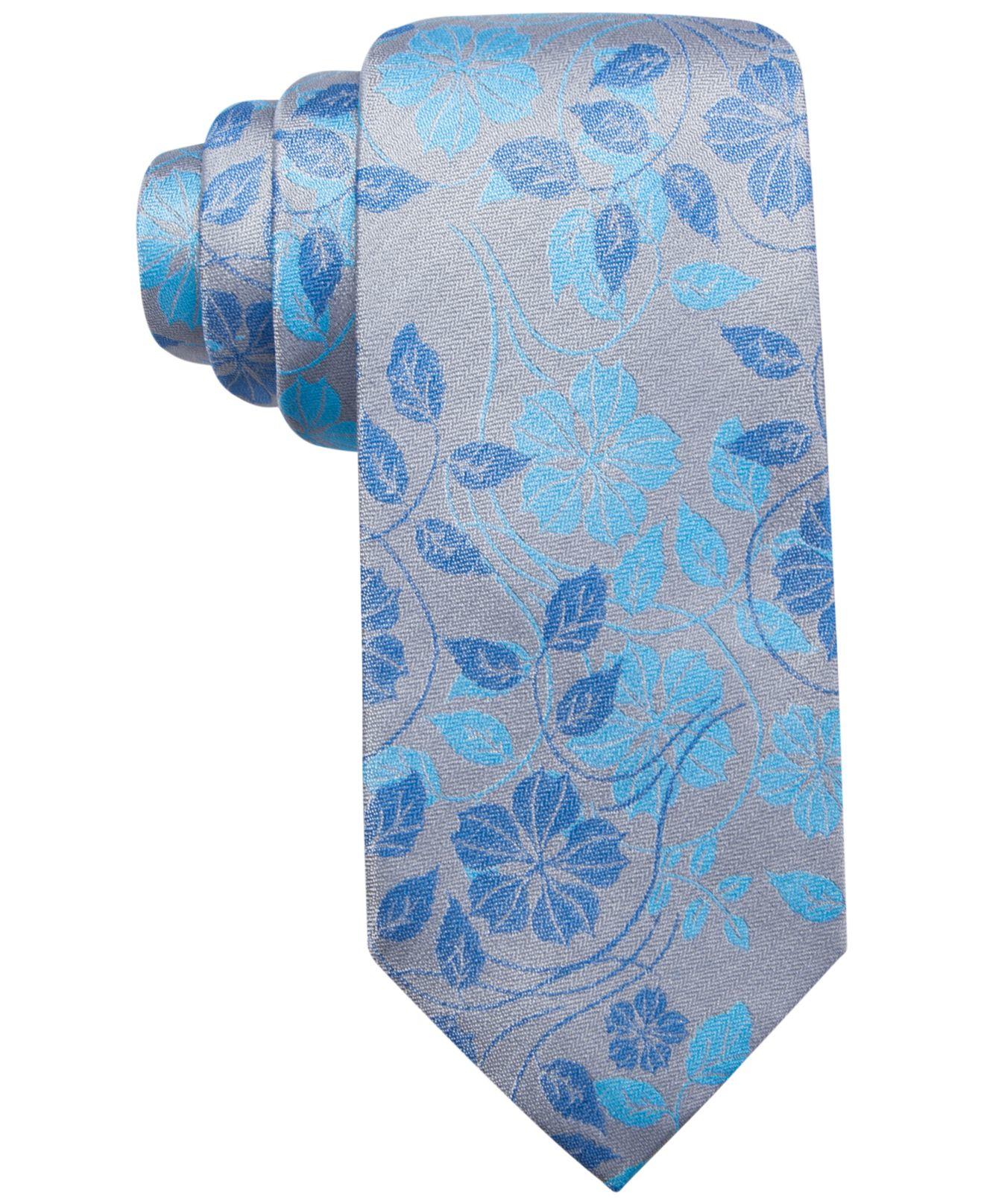 alfani spectrum s summer floral slim tie only at macy