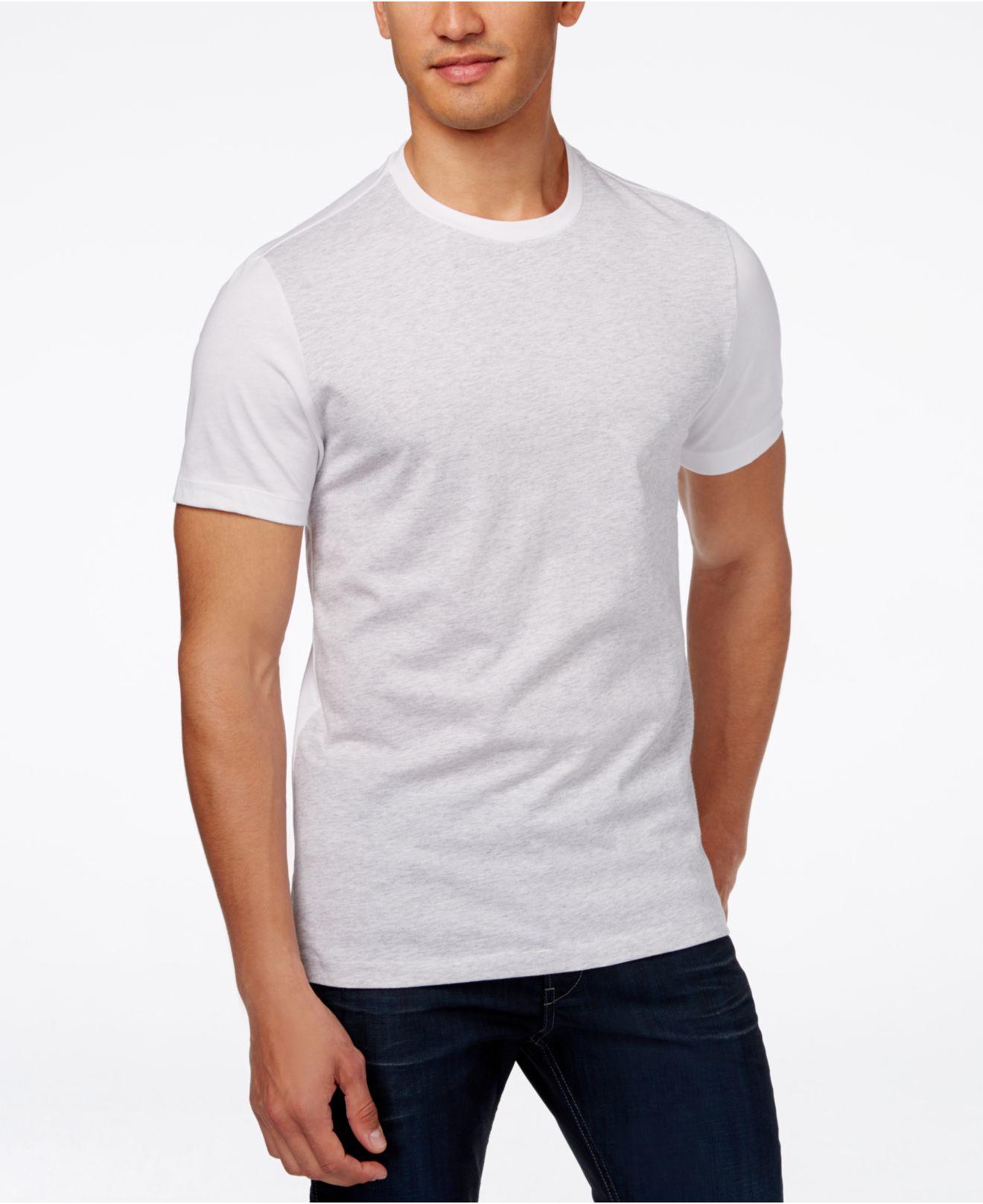 alfani s slim fit colorblocked sleeve