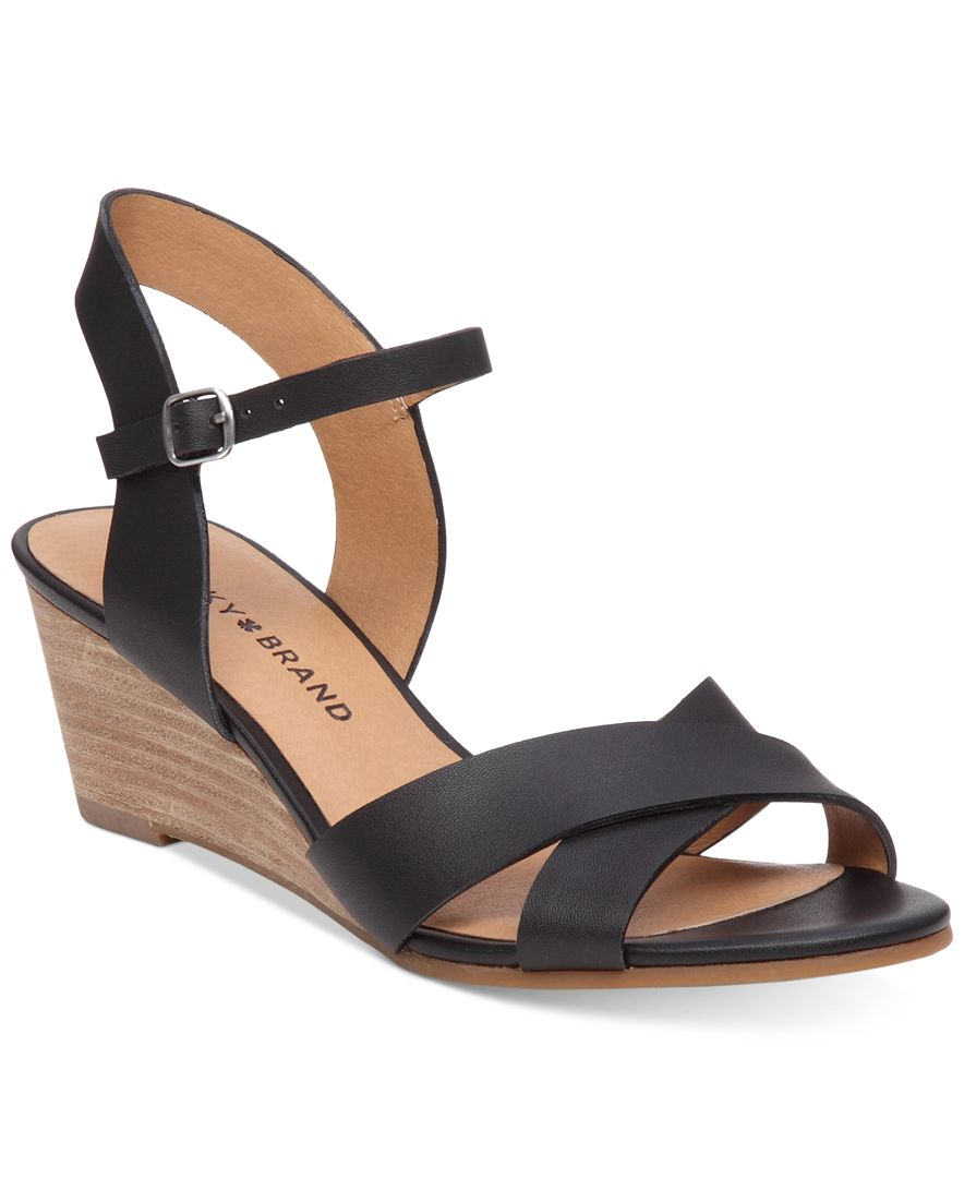 Beautiful Black Platform Sandals Black Wedge Sandals