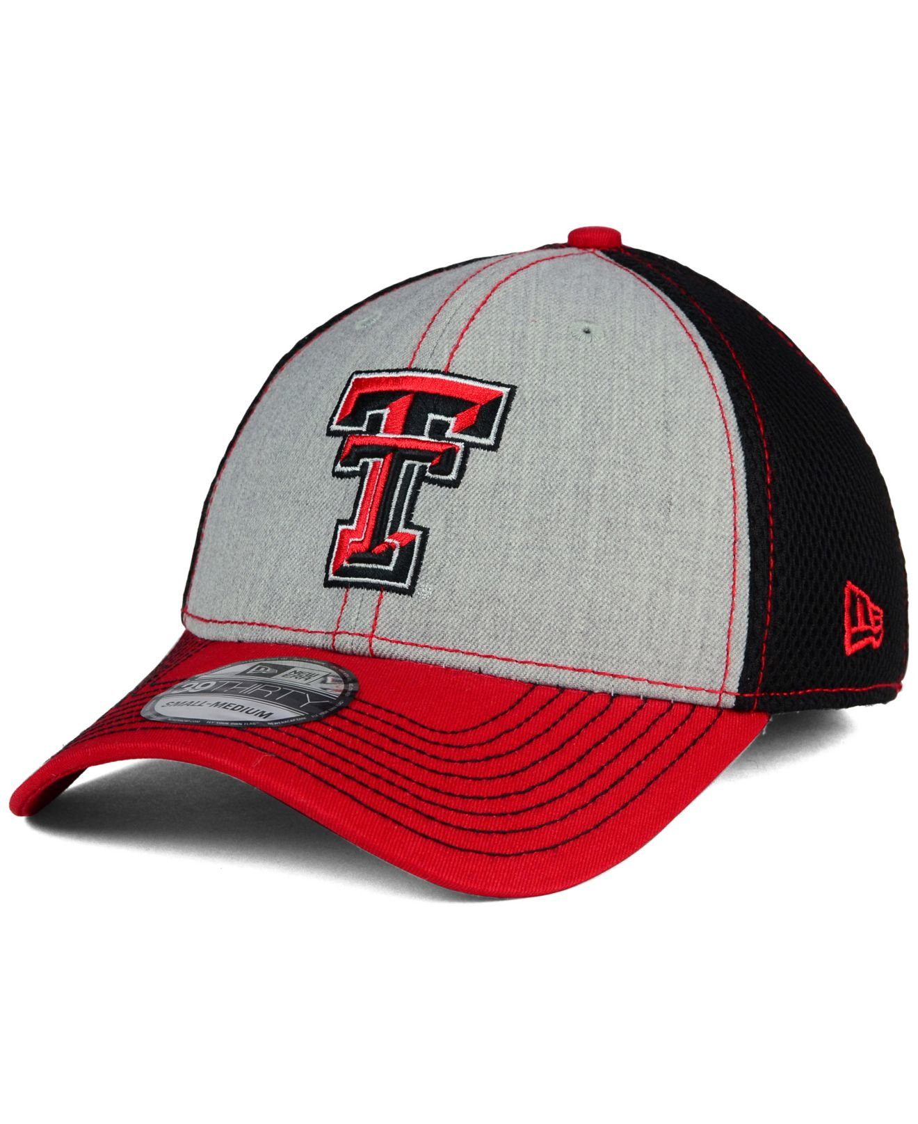 sports shoes 7a650 41eee ... where can i buy lyst ktz texas tech red raiders heathered neo 39thirty  cap in f13fb