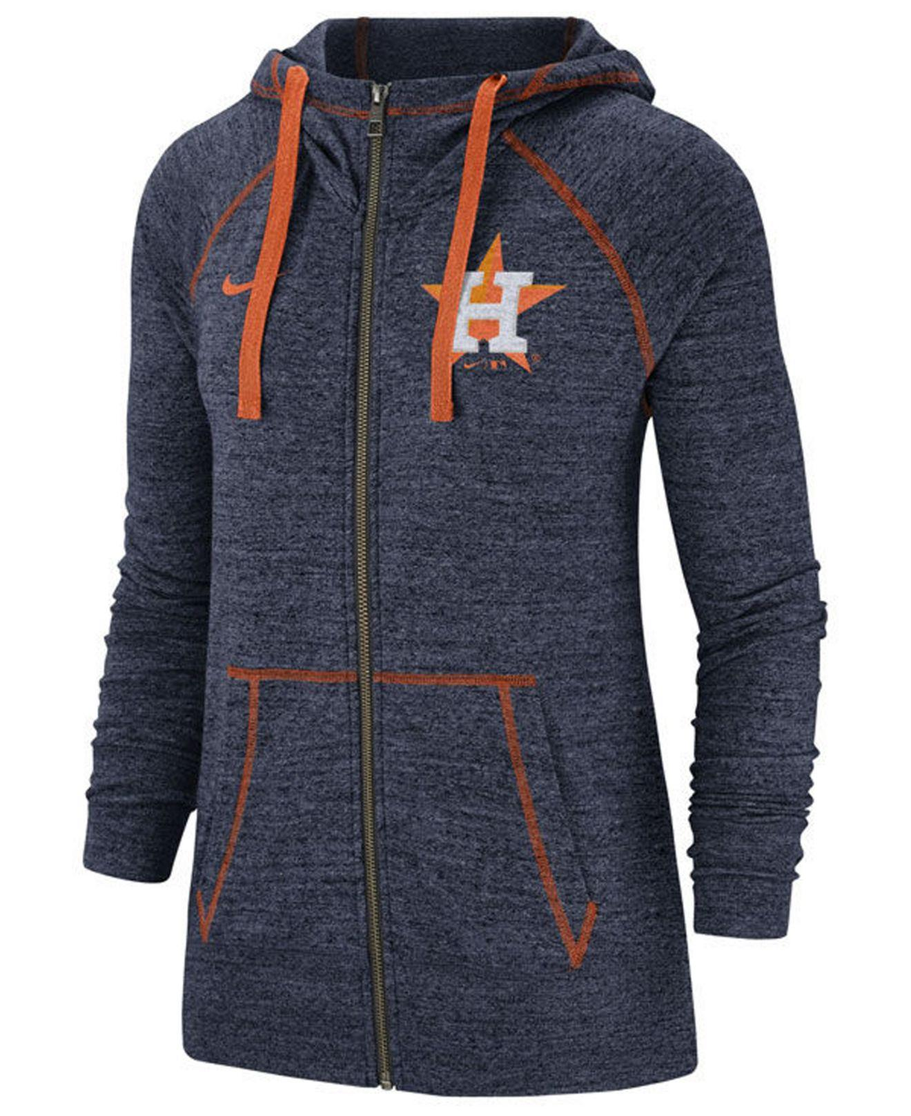 142b028cd1d0 Lyst - Nike Houston Astros Gym Vintage Full-zip Hooded Sweatshirt in ...