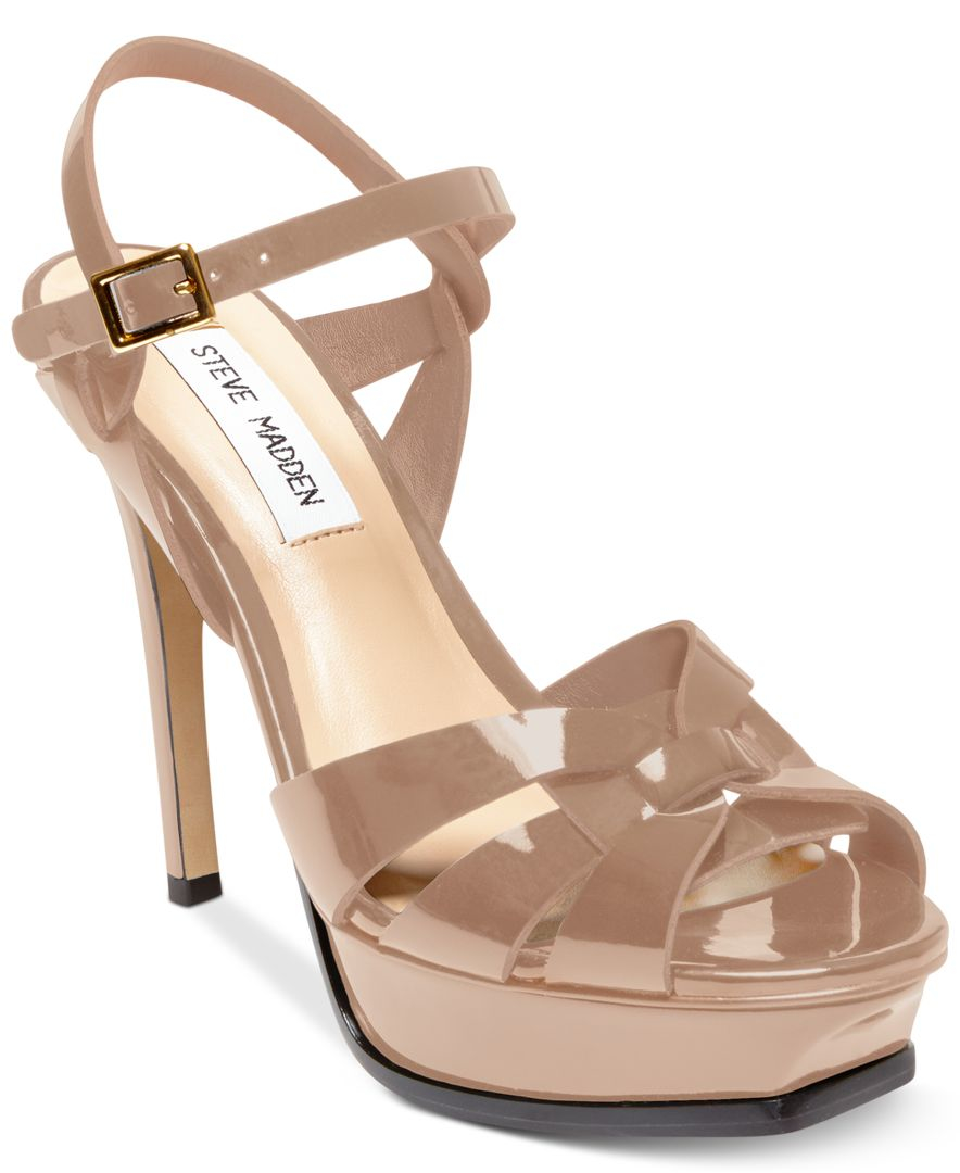 a33ac5fccfc Lyst - Steve Madden Women s Kananda Platform High-heel Sandals in Pink