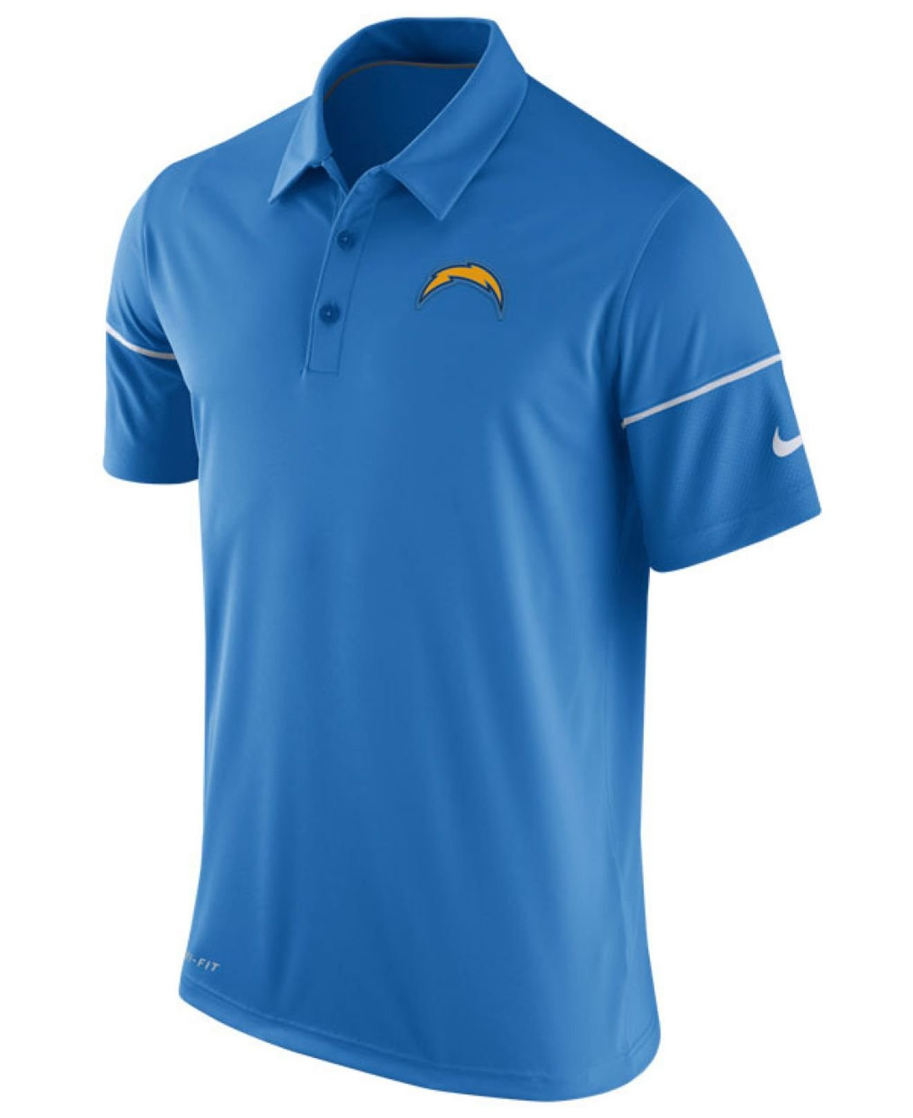 Nike Men S San Diego Chargers Team Issue Polo Shirt In