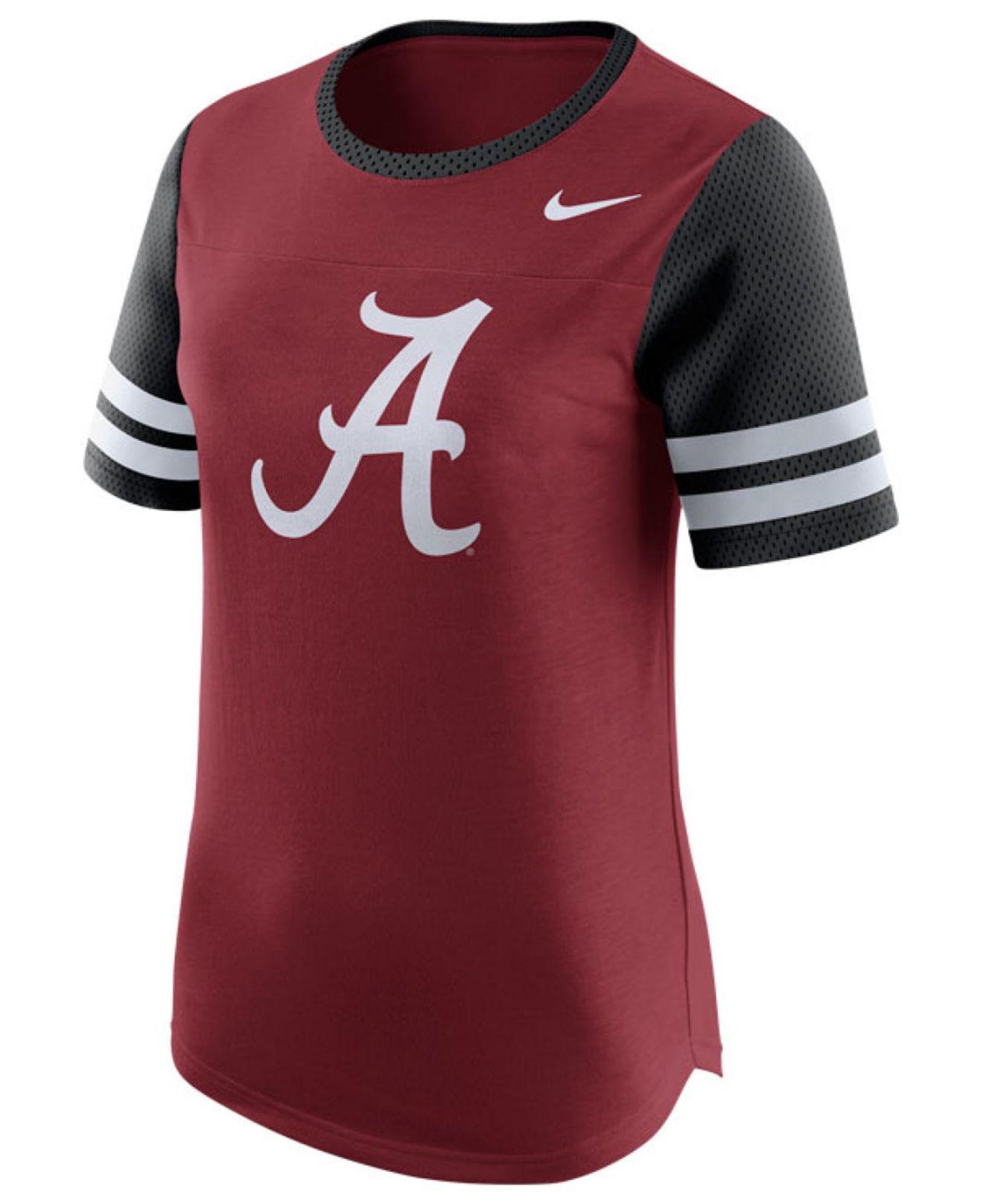 Lyst nike women 39 s alabama crimson tide gear up modern for T shirt printing mobile al