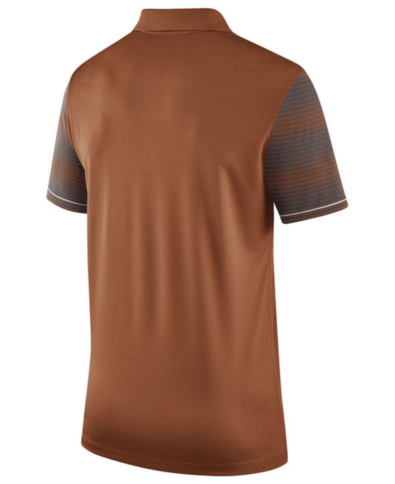 Nike Men 39 S Texas Longhorns Early Season Coach Polo Shirt