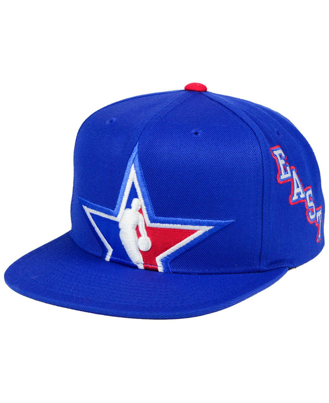 huge discount a4e1f f27ed Mitchell   Ness 2018 Nba All Star Collection East Snapback Cap in ...