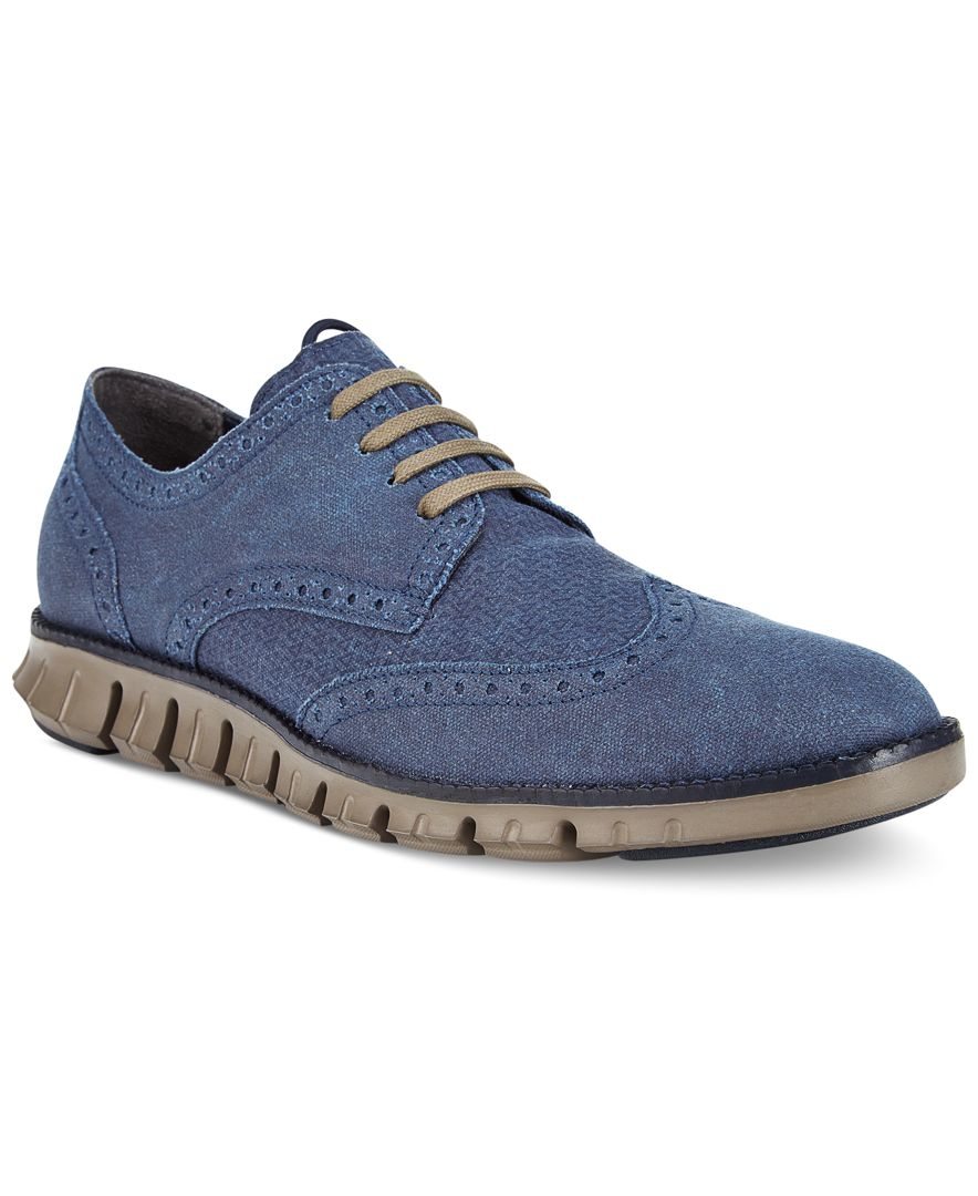 Kenneth Cole Mens Wingtip Shoes