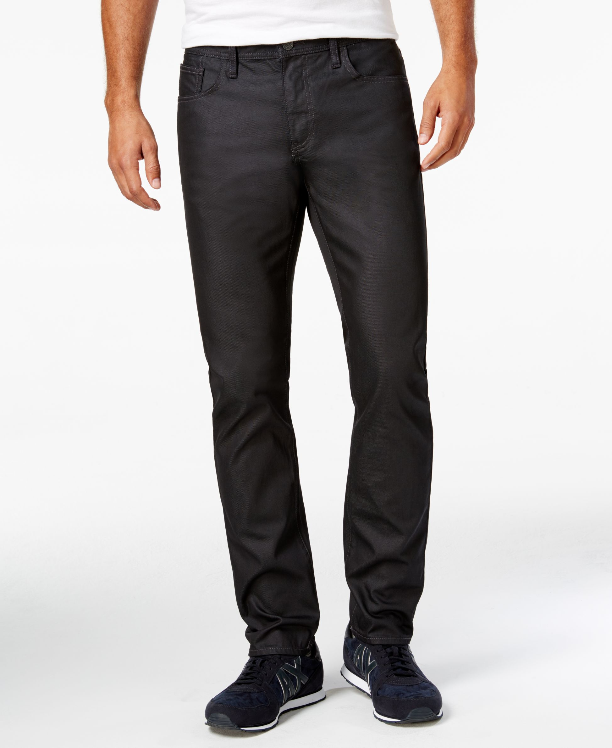Armani exchange Menu0026#39;s Slim-fit Jeans in Blue for Men | Lyst