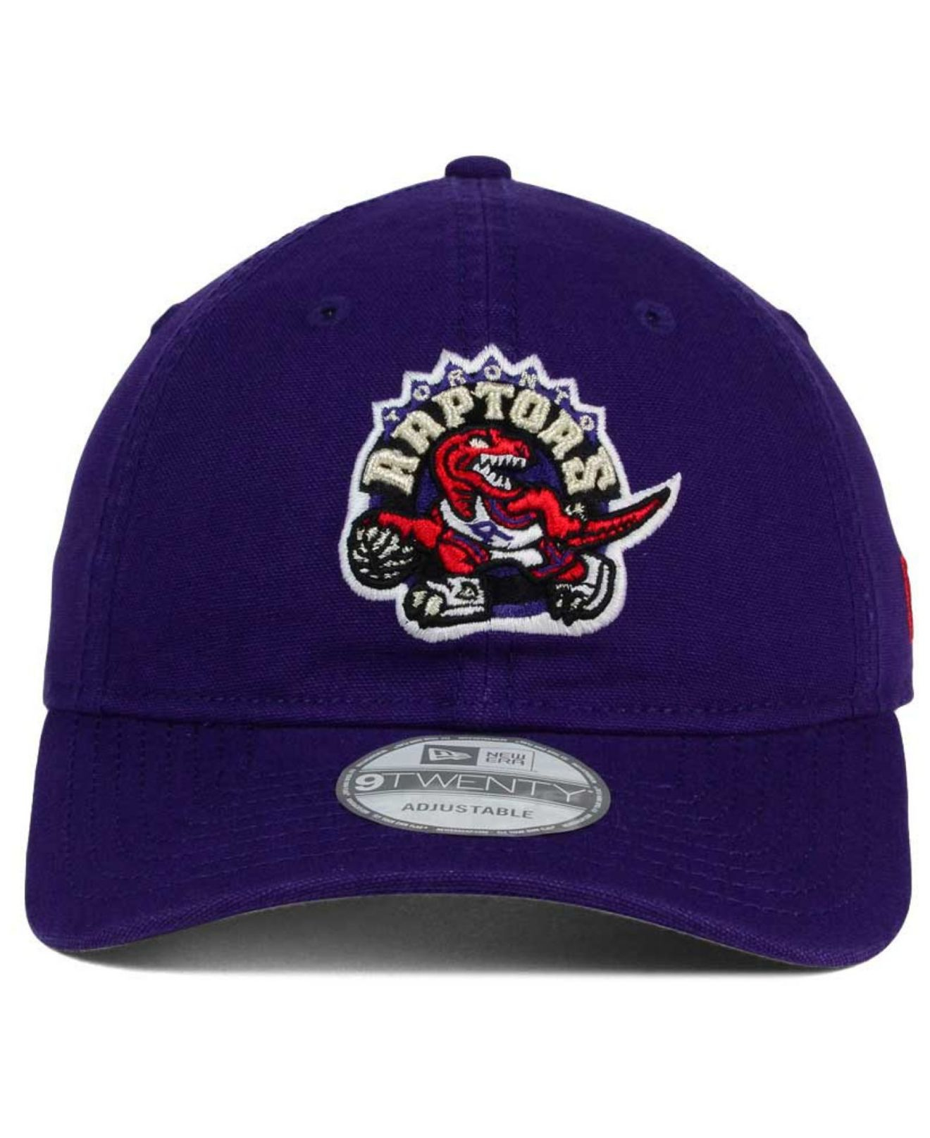 competitive price 652cd a1912 ... order lyst ktz toronto raptors relaxed 9twenty cap in purple for men  396ef cf8cf