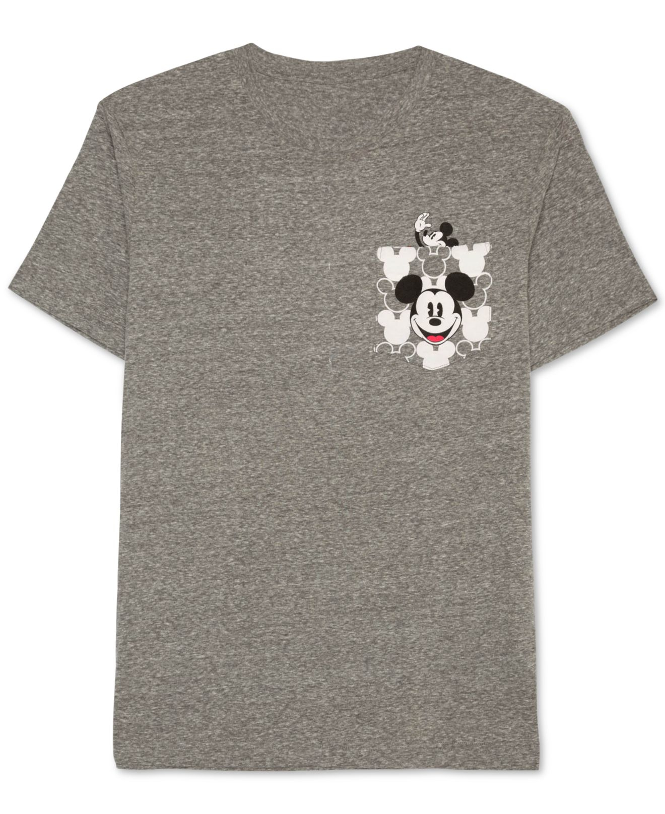 Jem Men's Mickey Mouse Graphic-print Pocket T-shirt in ...