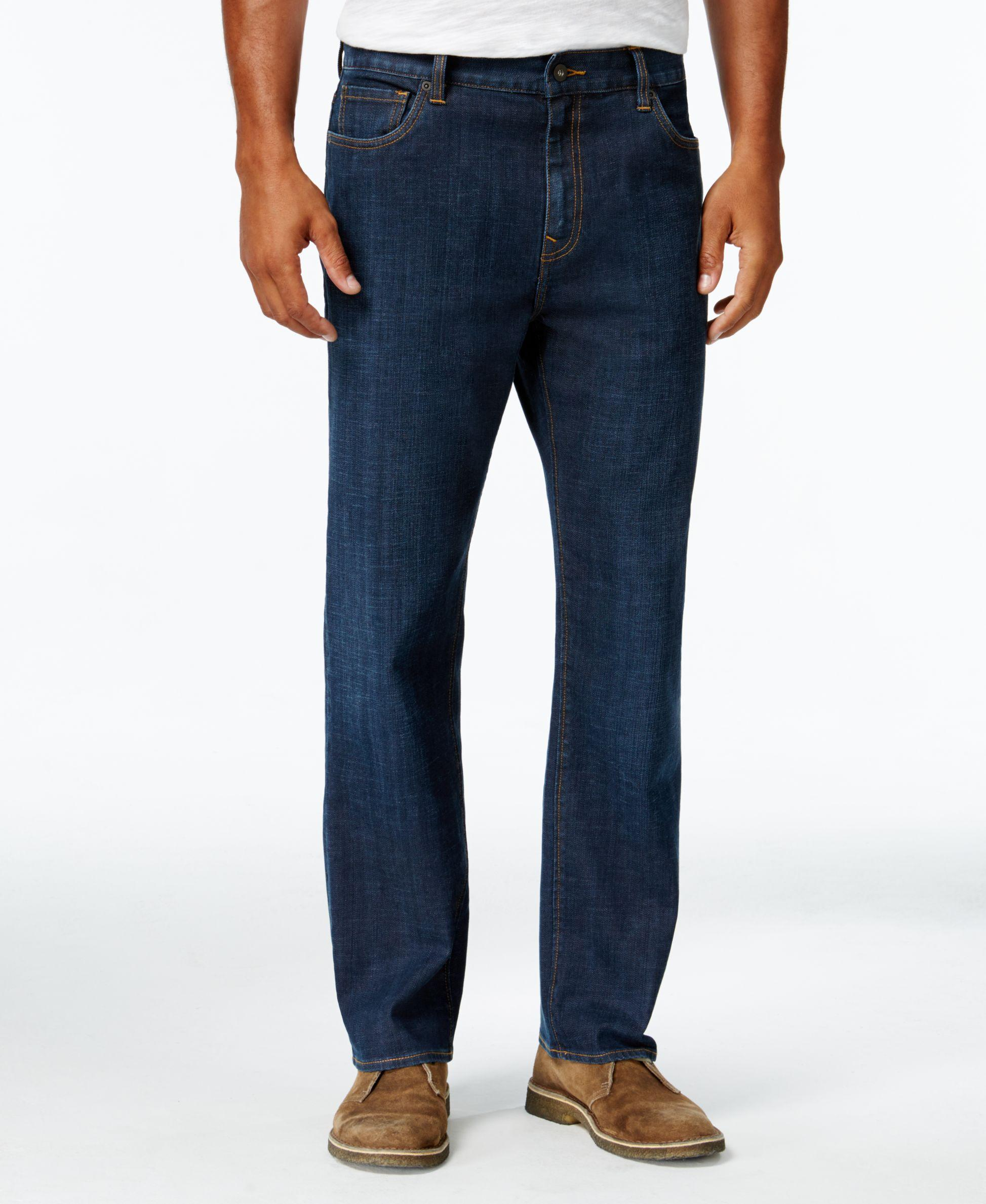 Men's 38 inseam jeans in cool styles. These men's 38