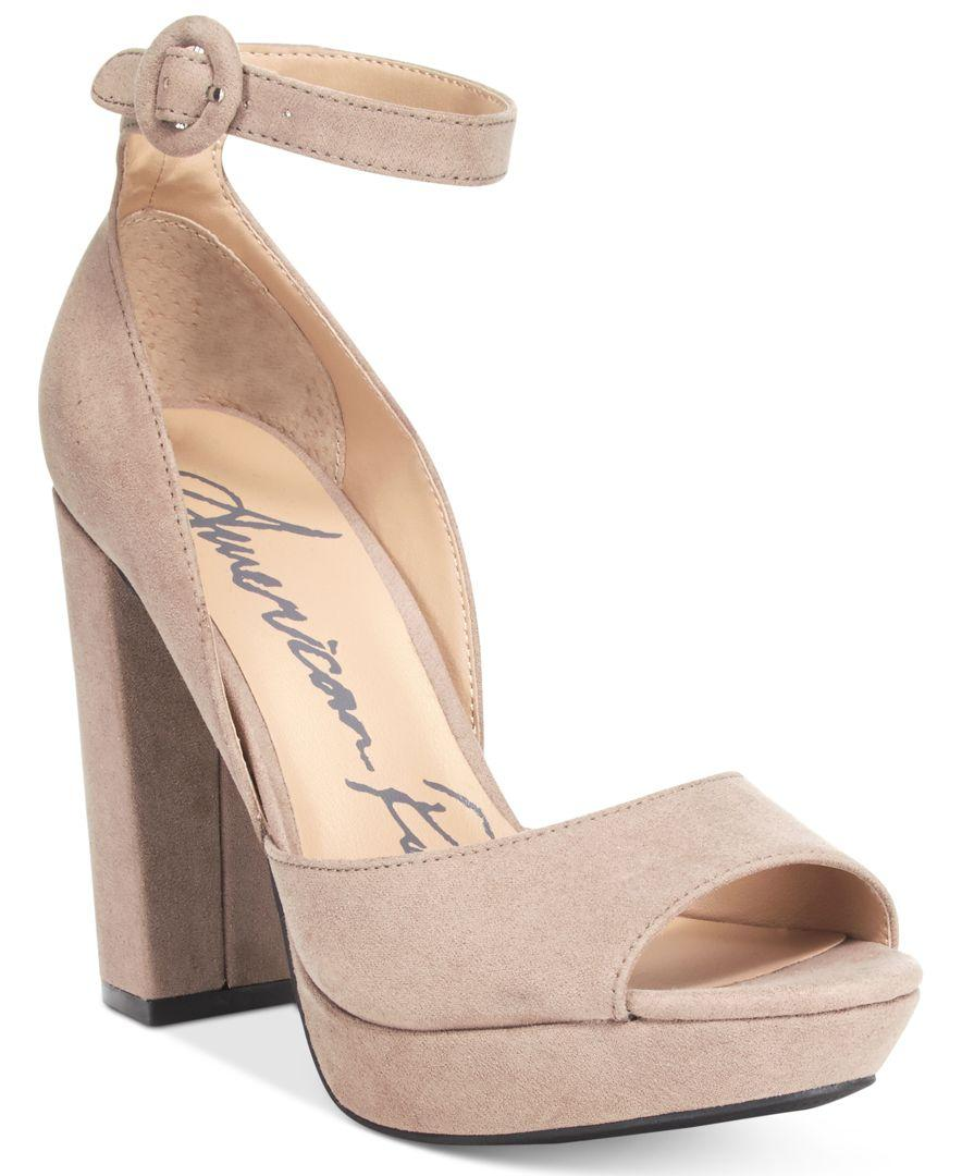 ecbbeb77cc7b Lyst - American Rag Reeta Block-heel Platform Sandals