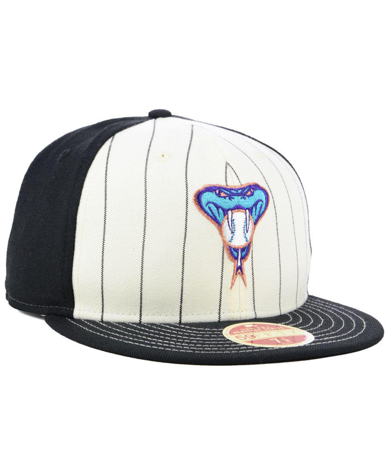 premium selection 7939c 8e090 ... cheap arizona diamondbacks vintage front 59fifty fitted cap for men lyst.  view fullscreen ee0c0 08494