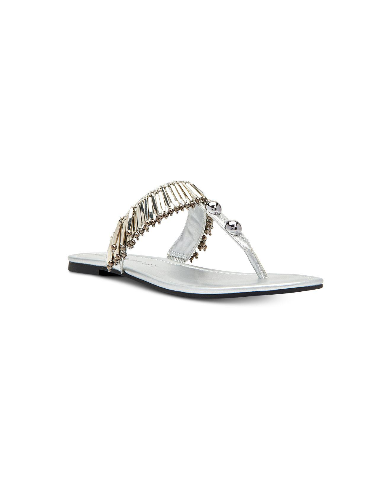 c57731b1ce15 Lyst - Katy Perry The Brenna Sandals in Metallic
