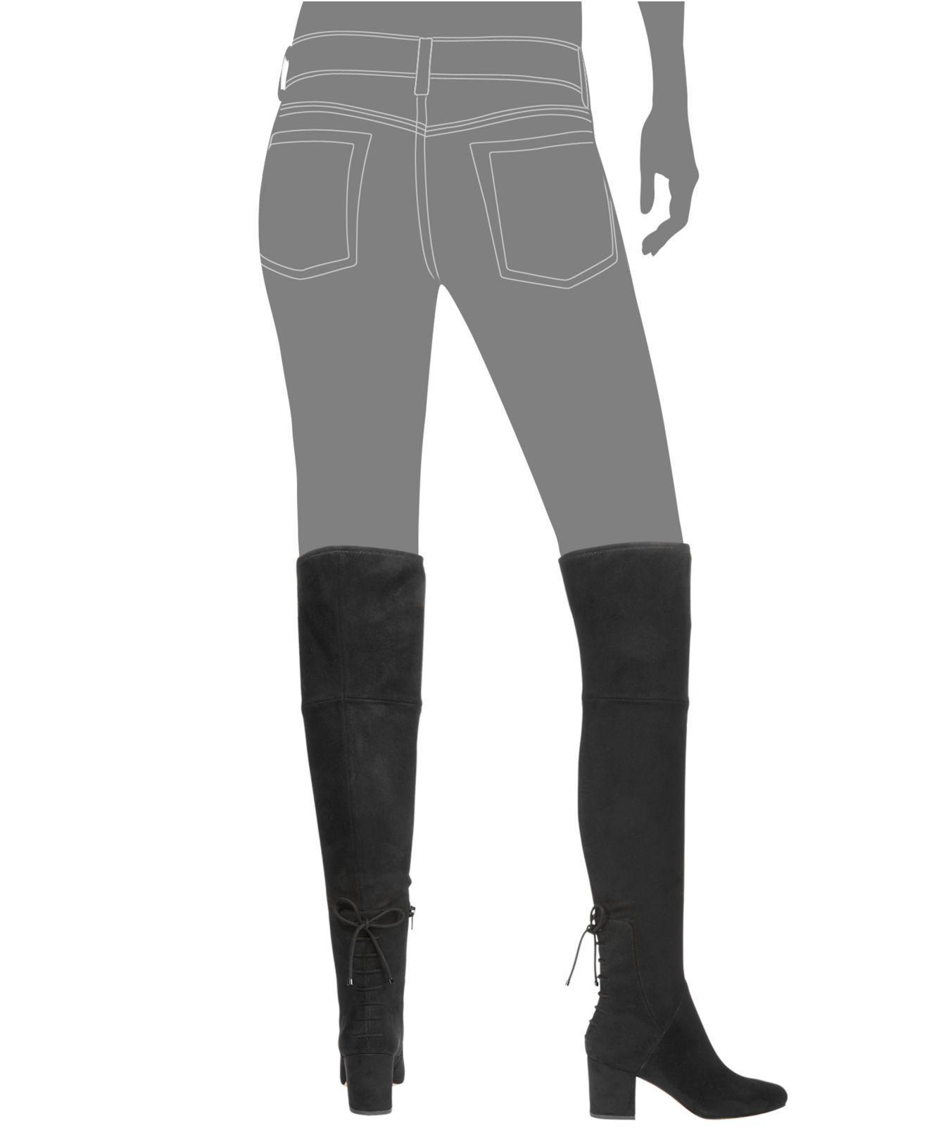 caf84ce2e4f Lyst - ALDO Women s Adessi Over-the-knee Mod Boots in Black