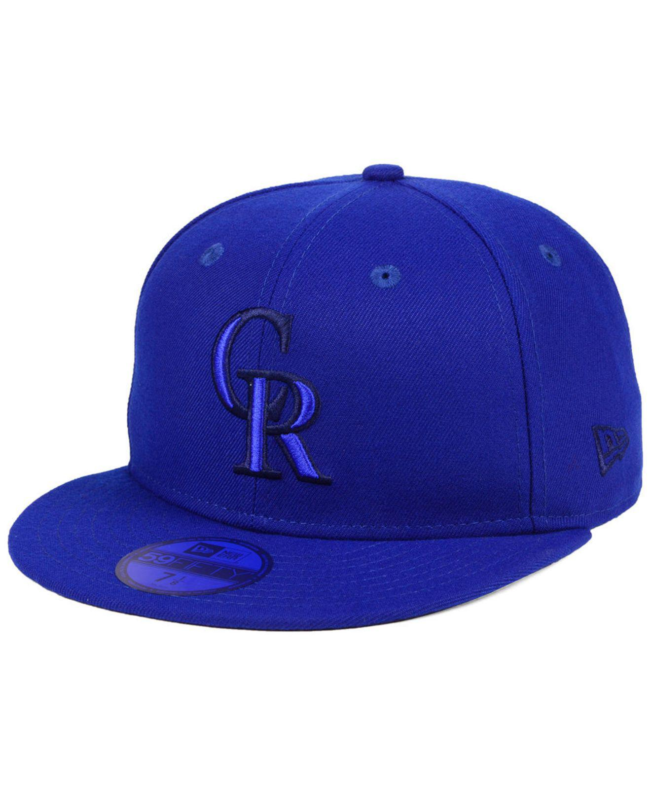 buy popular 8ab9c 18089 ... coupon for lyst ktz colorado rockies prism color pack 59fifty fitted cap  in 79324 8e325
