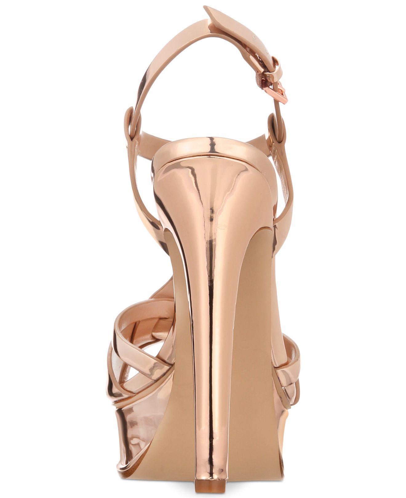 ALDO Chelly Platform Dress Sandals - Lyst