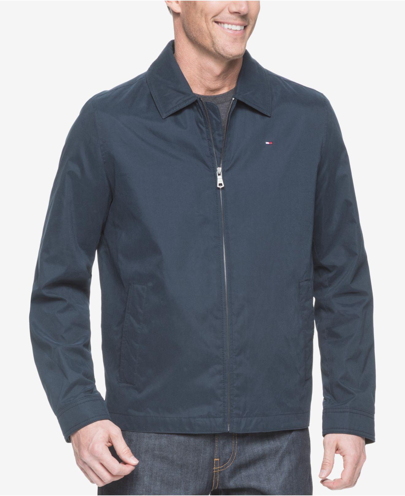 a54ffab7 Tommy Hilfiger Big & Tall Classic Full-zip Micro-twill Jacket in ...