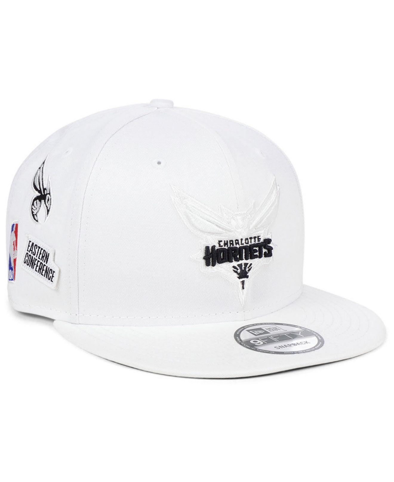 cheaper 37ddb 38514 ... purchase ktz. mens white charlotte hornets night sky 9fifty snapback cap  966c8 9f1d4