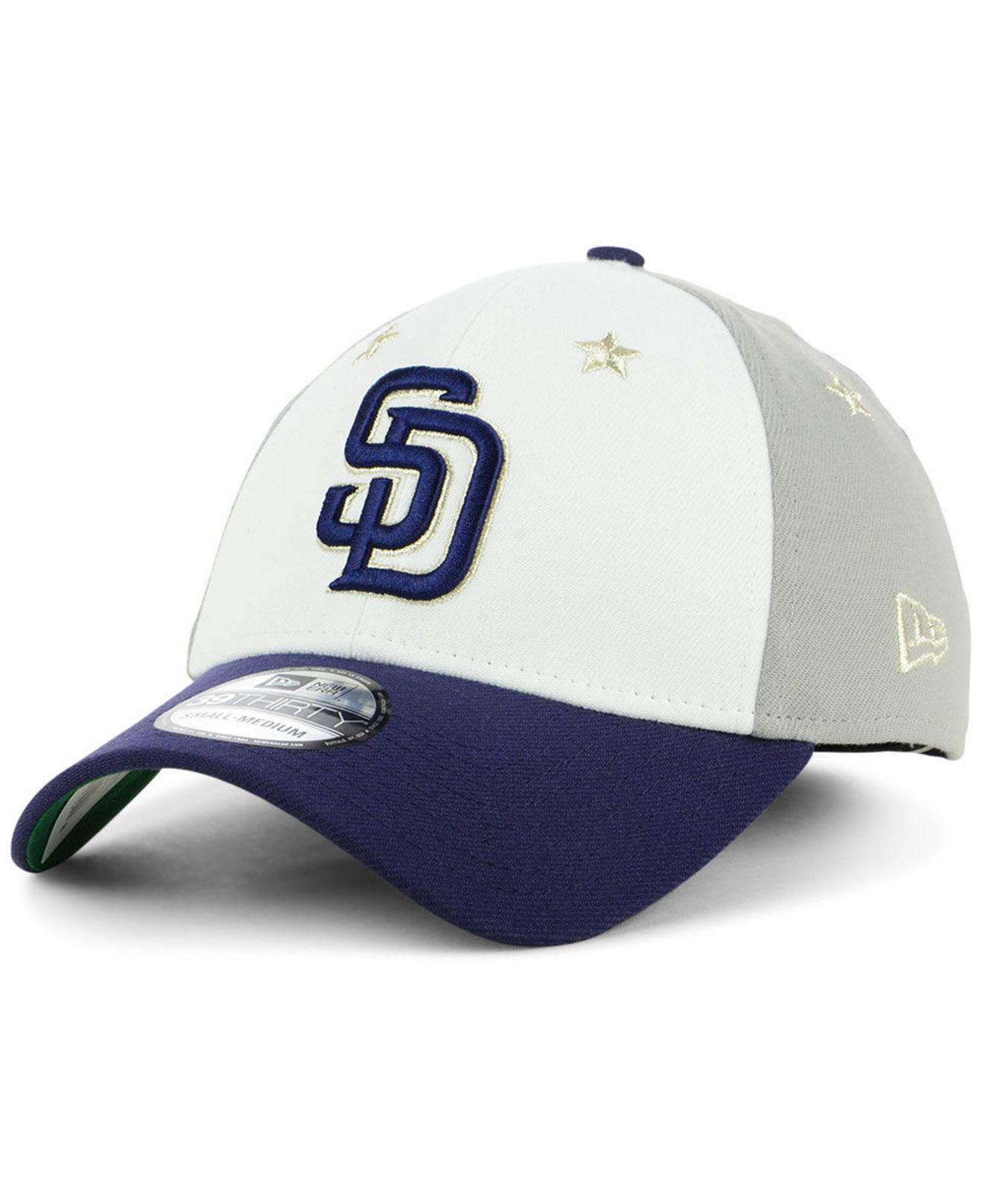 832c254deb2 ... best price san diego padres all star game 39thirty stretch fitted cap  2018 for men.