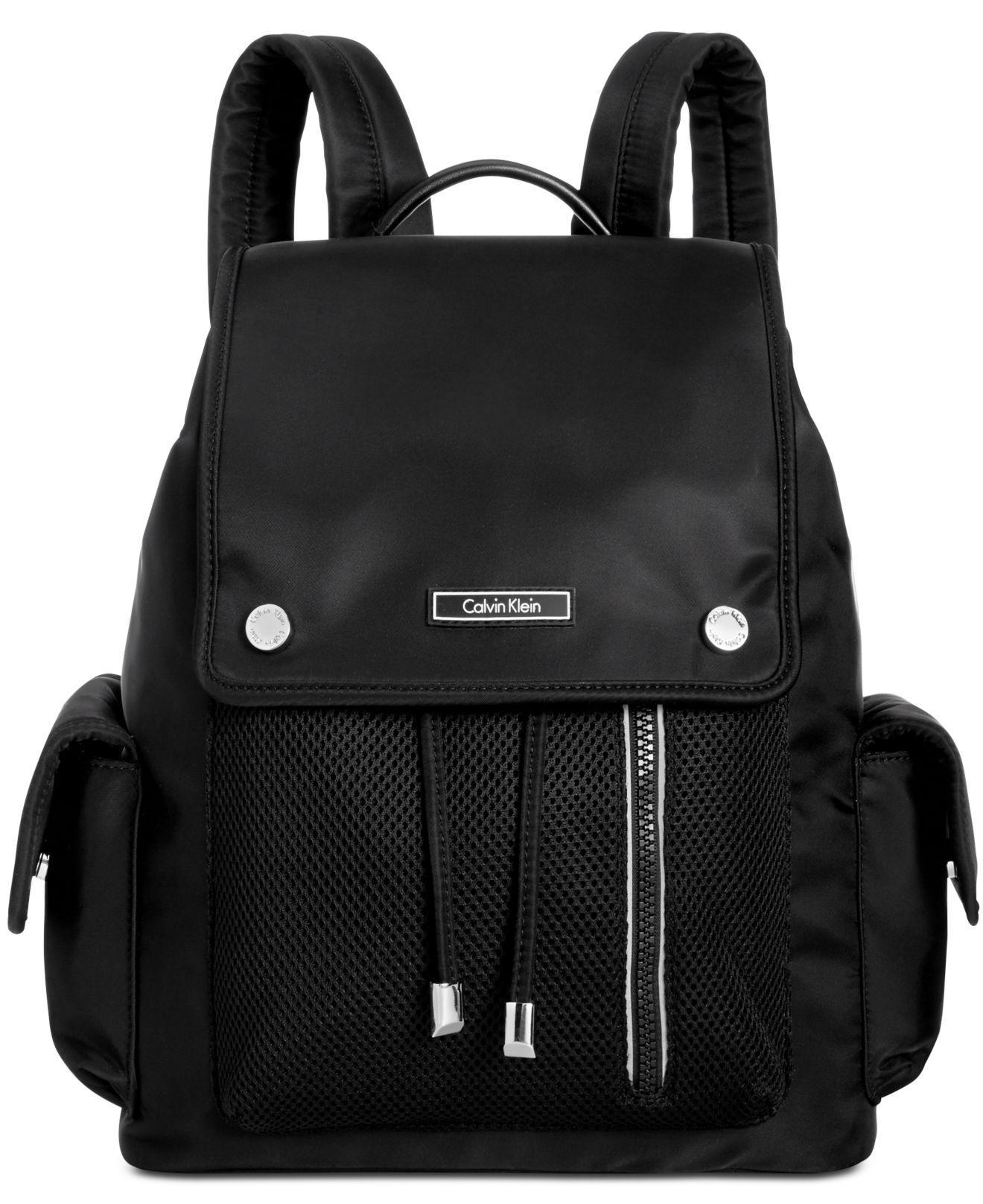 b298bee9a7ba Calvin Klein - Black Athleisure Medium Backpack - Lyst. View fullscreen