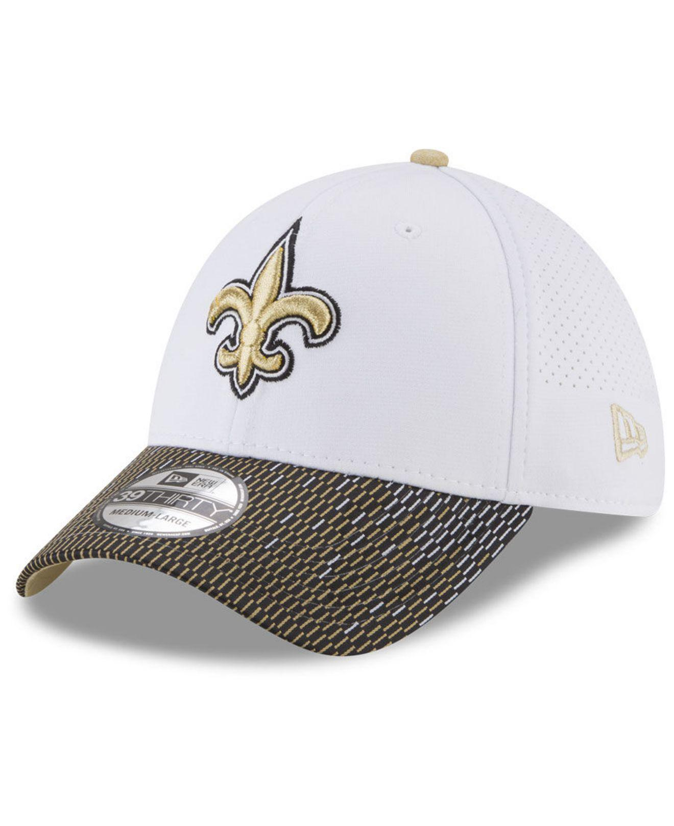 new style 454b3 07a05 KTZ New Orleans Saints Equalizer 39thirty Cap in White for Men - Lyst