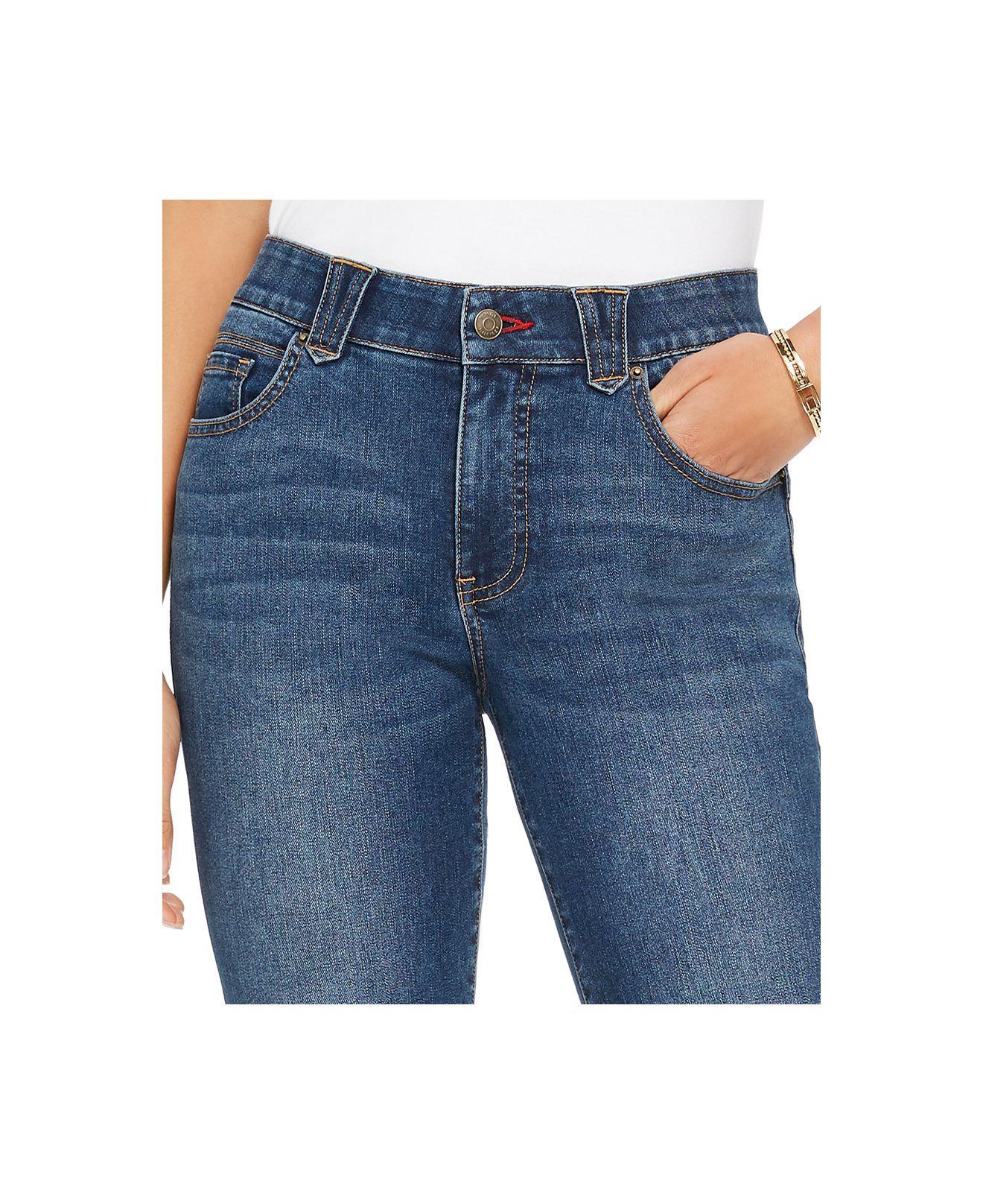 Tommy Hilfiger Denim Waverly Skinny Jeans In Blue Lyst