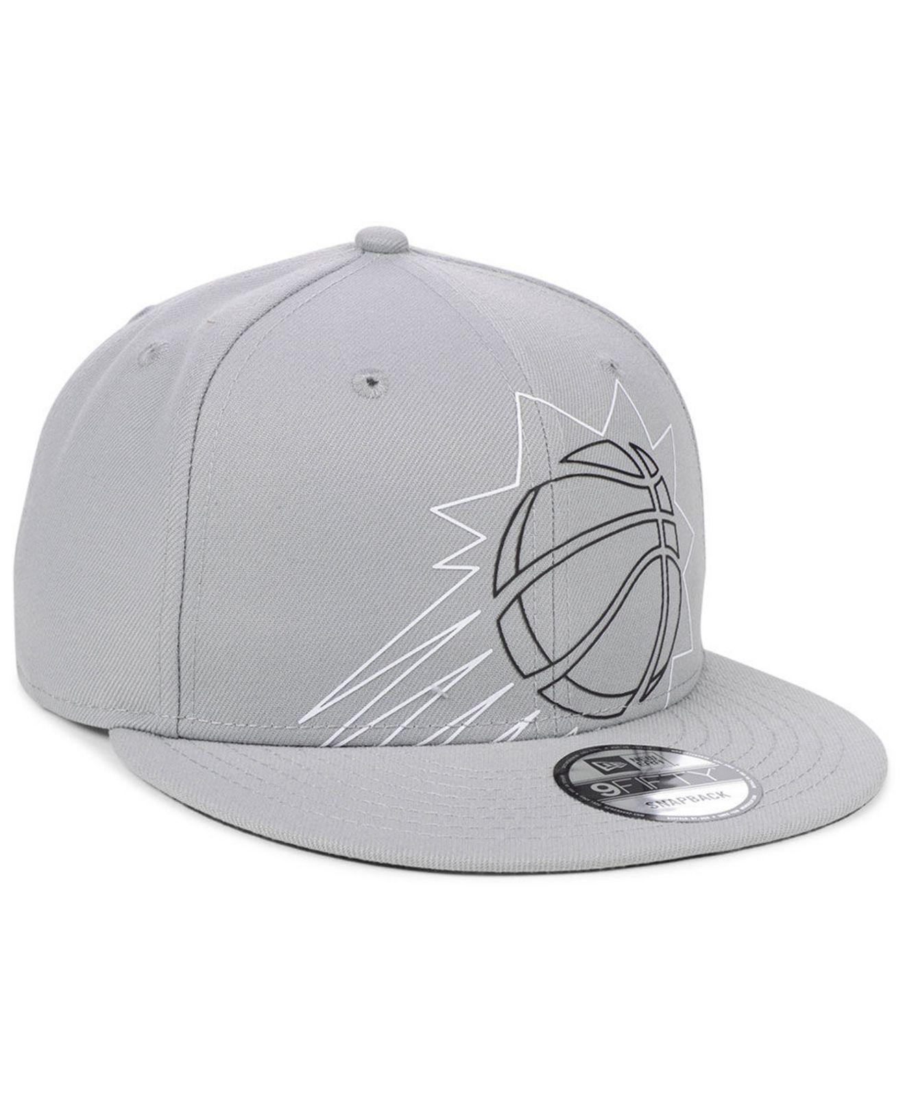 differently b466a 6e9e9 Lyst - KTZ Phoenix Suns Light It Up Gray 9fifty Snapback Cap in Gray for Men