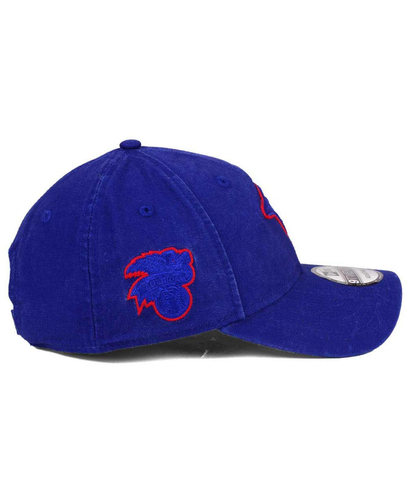 the best attitude f5ed0 4100a ... shopping ktz blue chain stitch 9twenty cap for men lyst. view  fullscreen 85173 66405