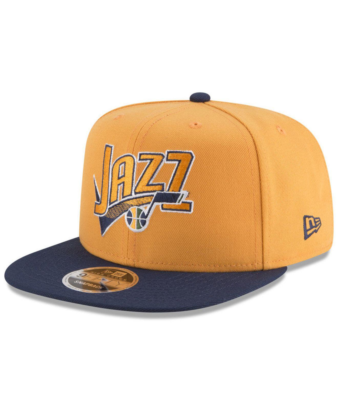 Lyst - KTZ Utah Jazz Retro Tail 9fifty Snapback Cap in Blue for Men 4b106c82e