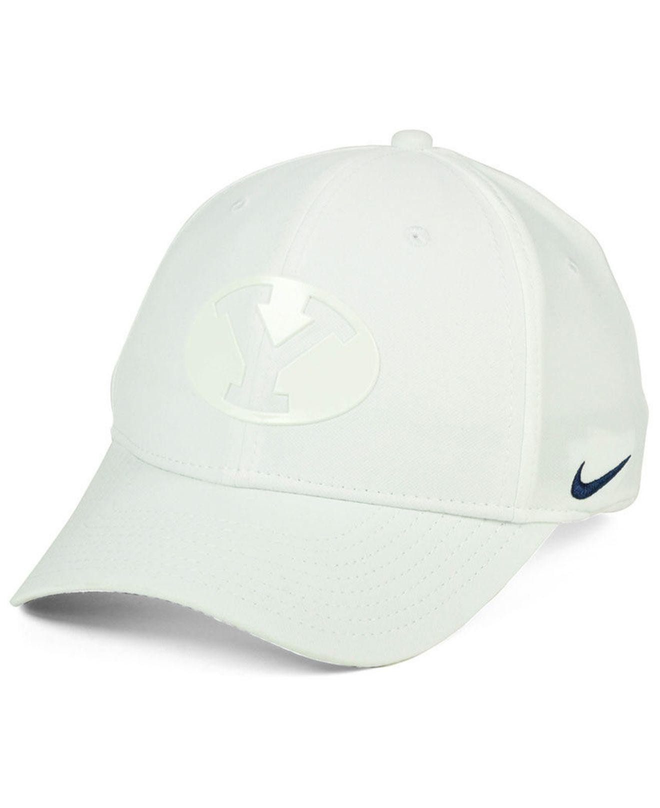 7031e00aa45 Lyst - Nike Brigham Young Cougars Col Cap in White for Men