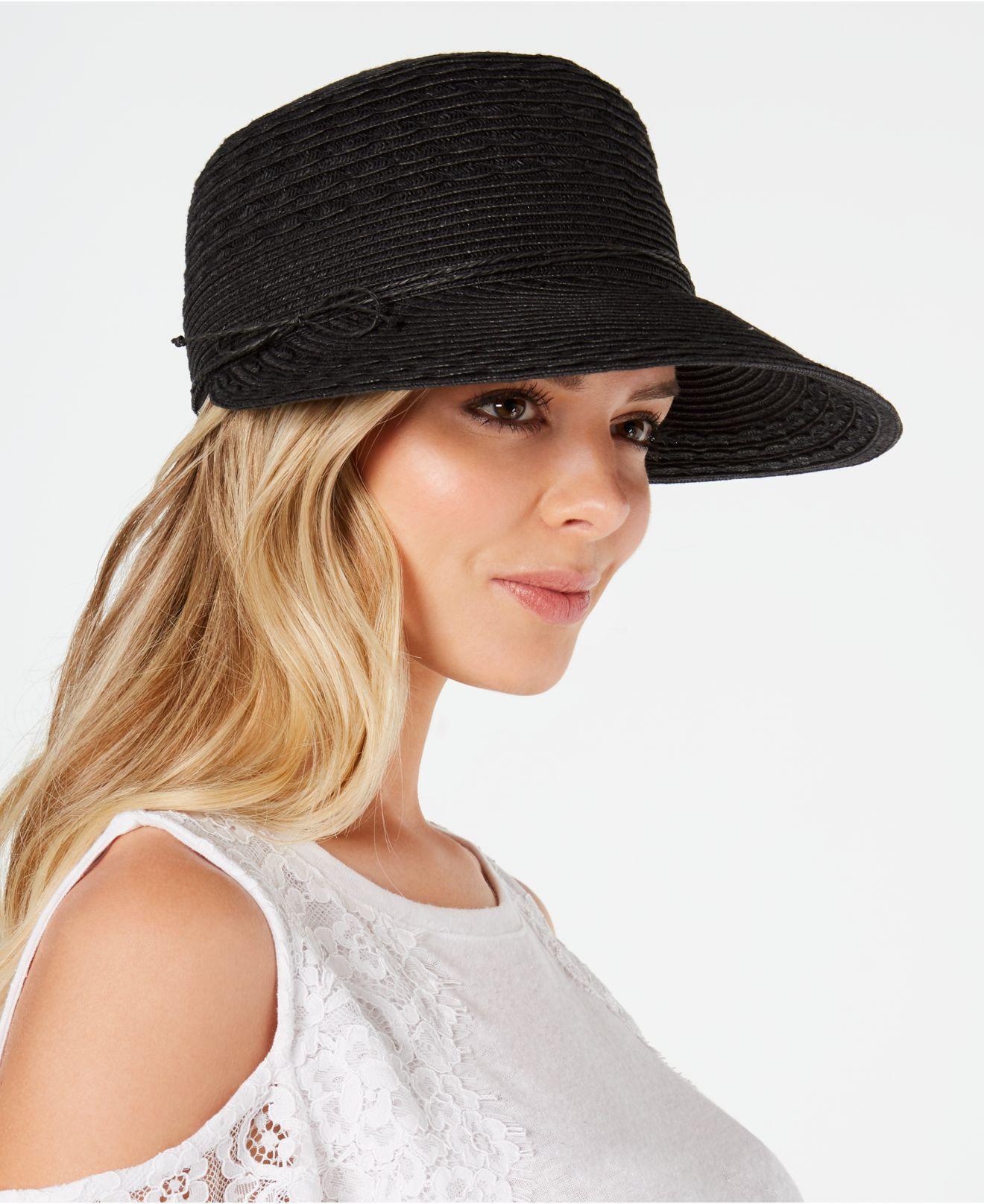7b7d1a1a2 Women's Black Packable Framer Hat