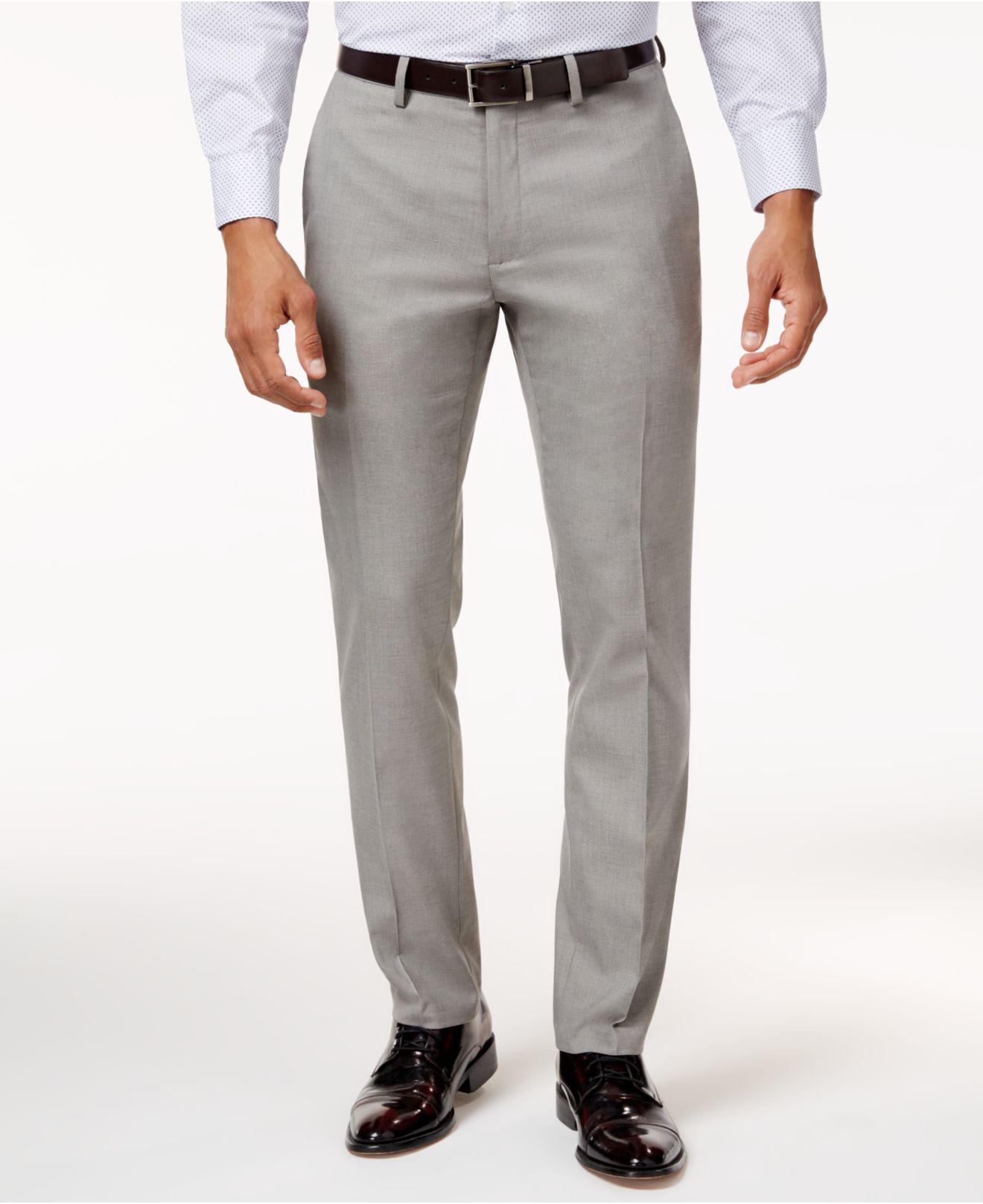 Straight-Fit Stretch Dress Pant Kenneth Cole Reaction QBmMyn2YA