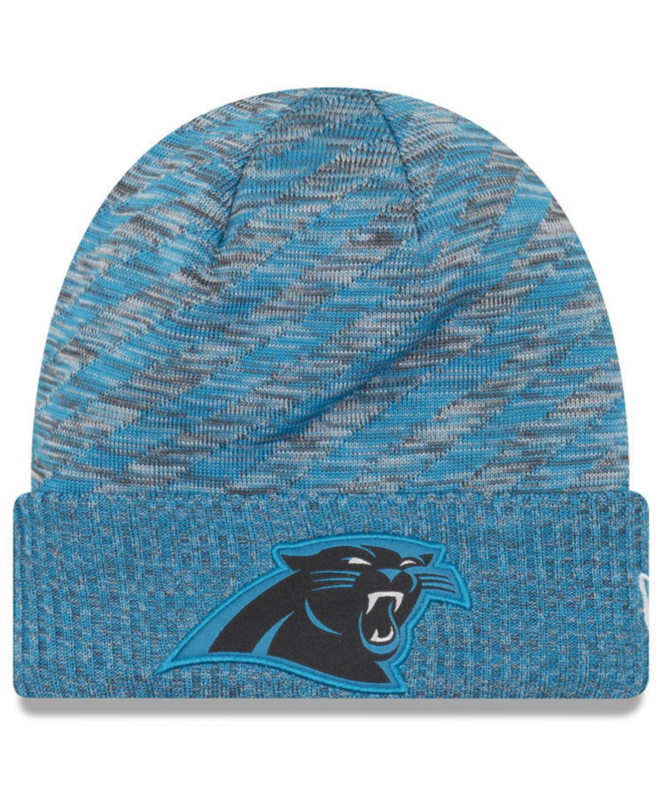 Lyst - Ktz Carolina Panthers Touch Down Knit Hat in Blue for Men 948e72f67