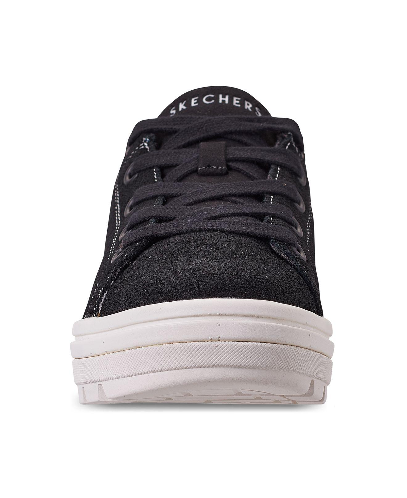 0b233490800 Skechers - Black Street Cleat - Back Again Casual Sneakers From Finish Line  - Lyst. View fullscreen