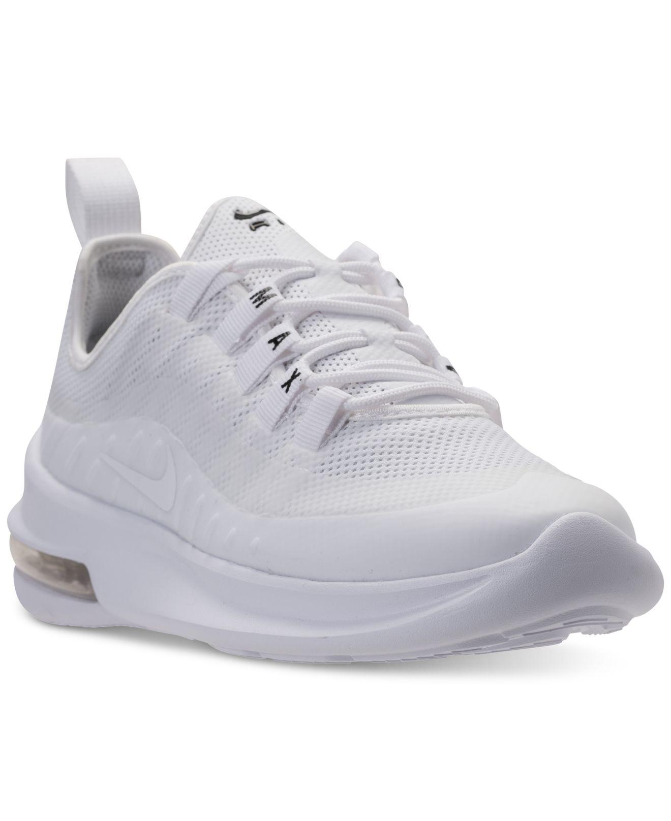 detailed look 2604c d4893 Nike Air Max Axis Casual Sneakers From Finish Line in White - Lyst