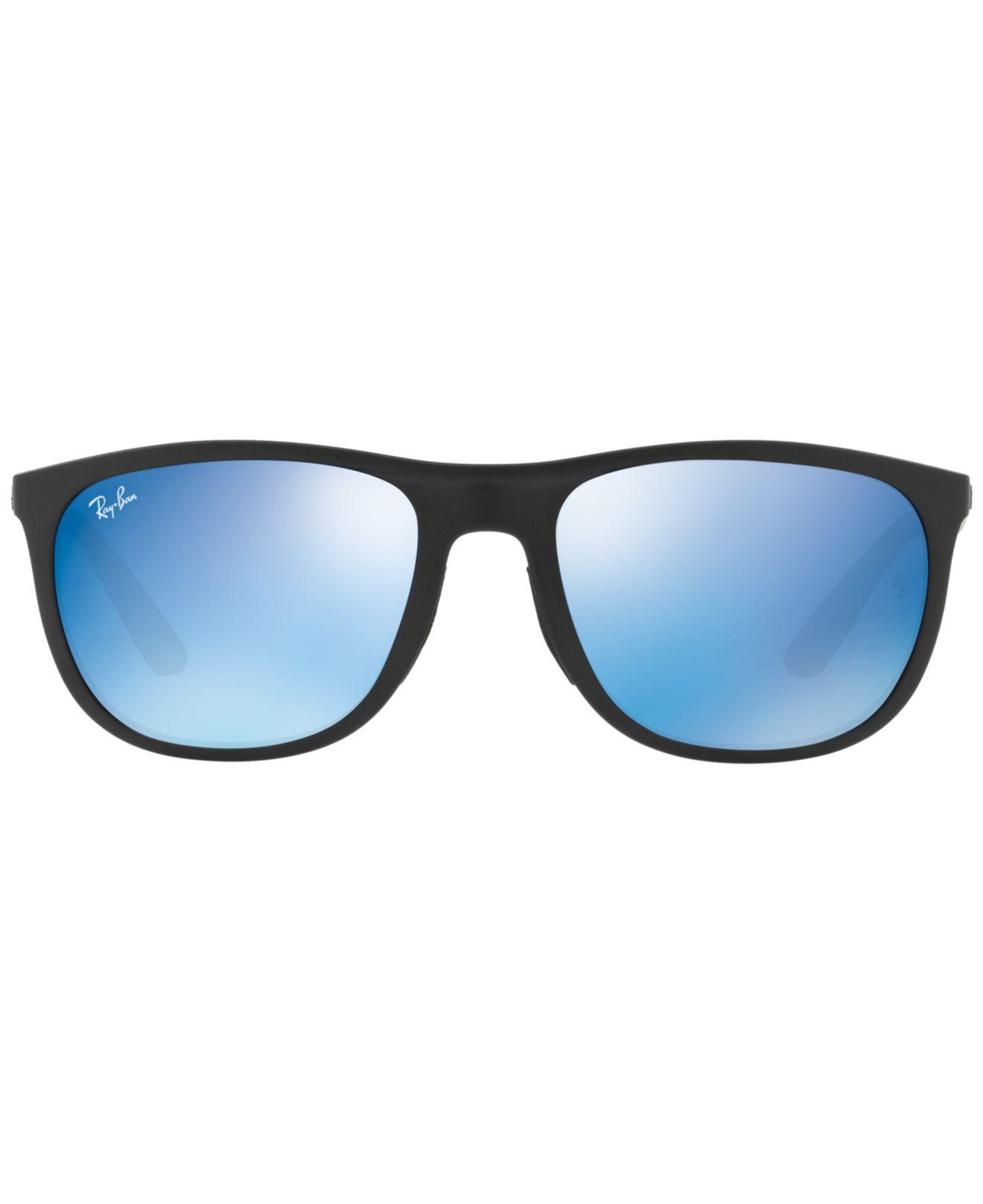 6212199834f ... reduced lyst ray ban sunglasses rb4291 58 in blue for men 265cf 82ae5  ...