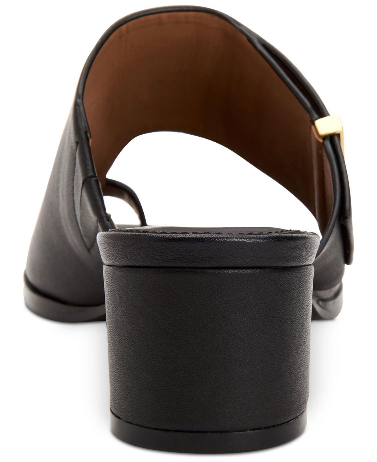 8a226ae0d8 Calvin Klein - Black Daria Dress Sandals, Created For Macy's - Lyst. View  fullscreen
