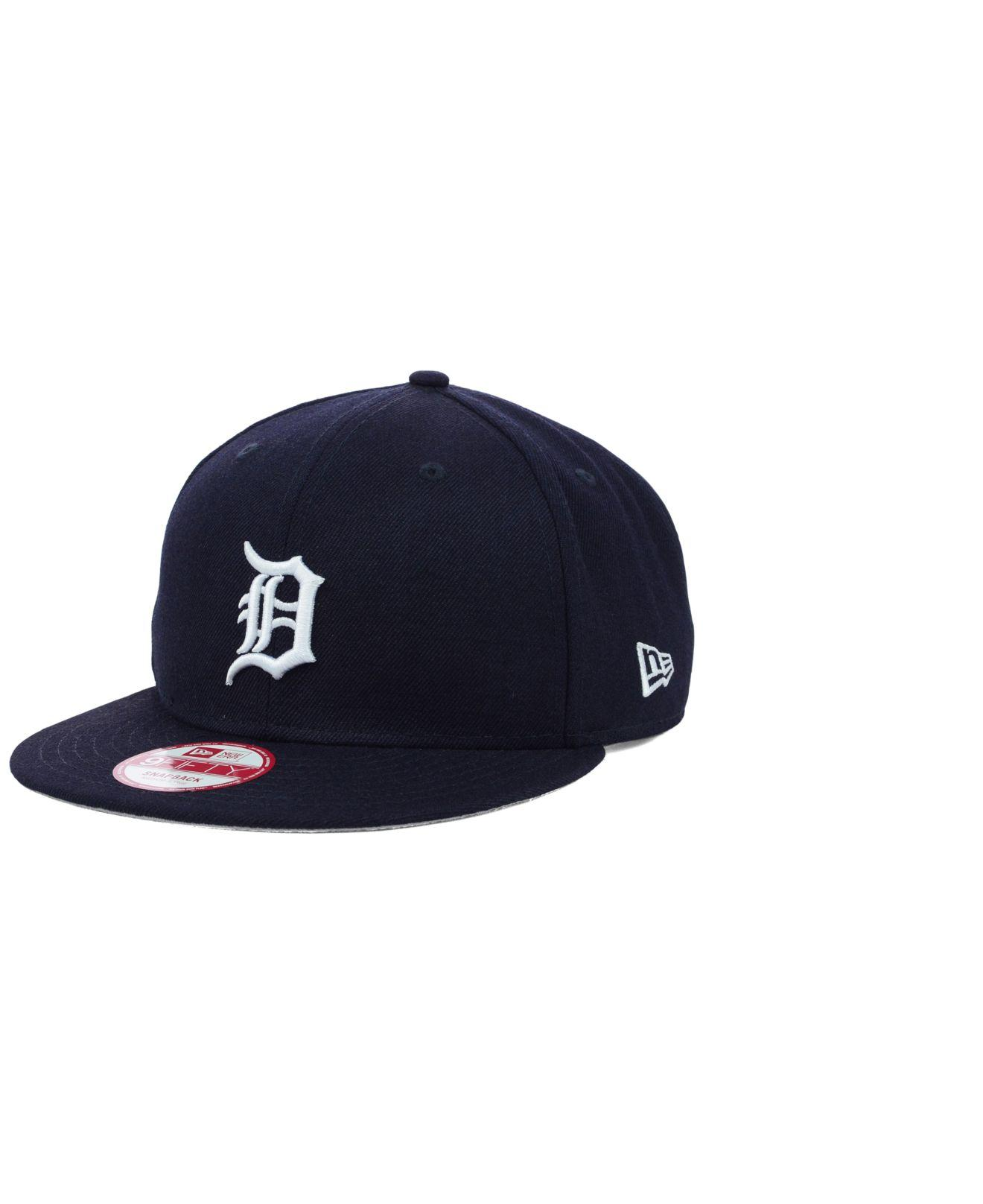 cheapest cheapest price best quality KTZ Wool Detroit Tigers 2 Tone Link 9fifty Snapback Cap in Navy ...
