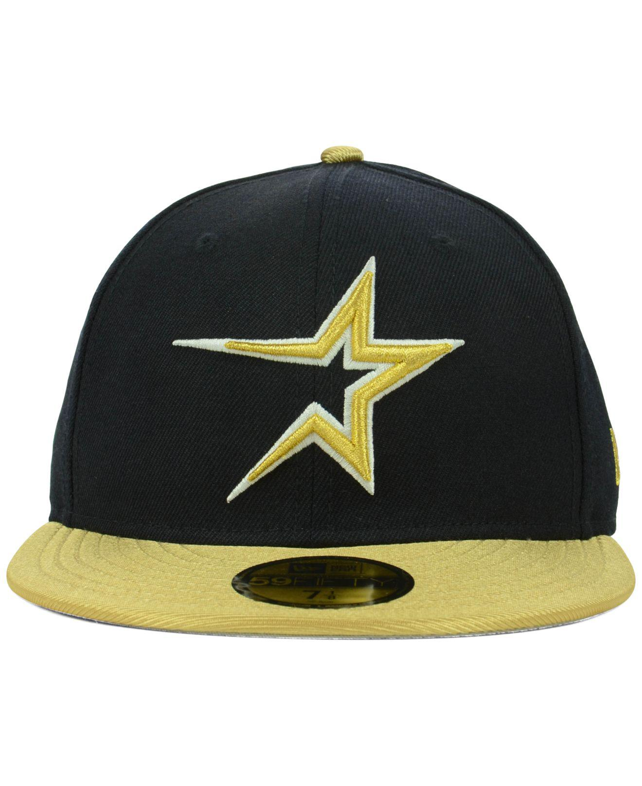 6b30e3a784d Lyst - KTZ Houston Astros Cooperstown 59fifty Cap in Blue for Men