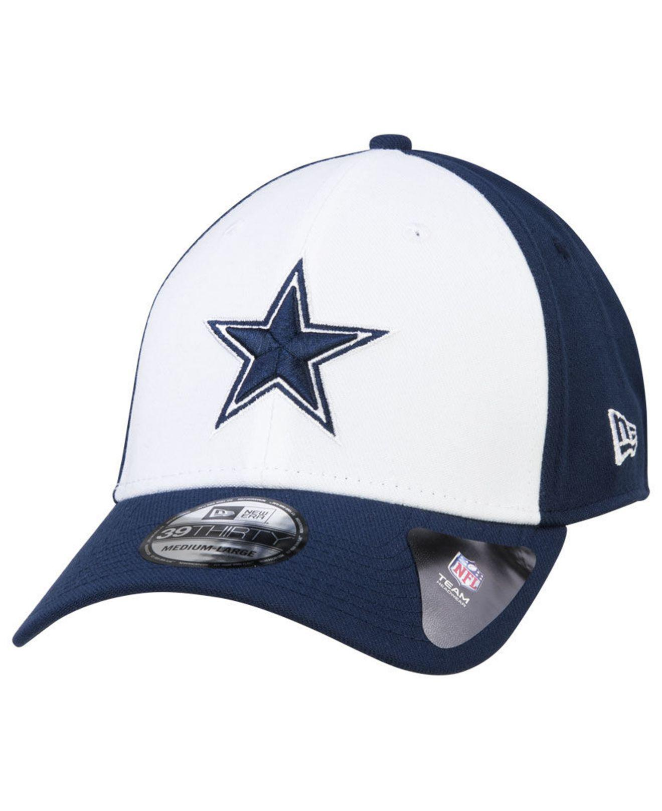 best website 6c8fe 22fd2 KTZ. Men s Blue Dallas Cowboys New Team Classic 39thirty Cap