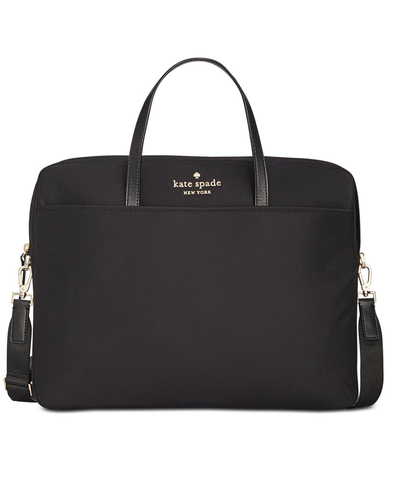 new styles c1848 fecd6 Women's Black Universal Nylon Slim Commuter Laptop Case