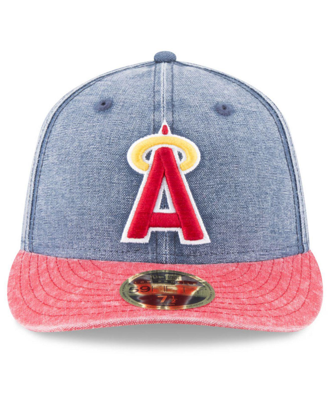 new products 20b0e 786fc ... new era mlb coop classic 39thirty cap aadff 20e40  store lyst ktz los  angeles angels of anaheim 59fifty bro cap in blue for men 38b25