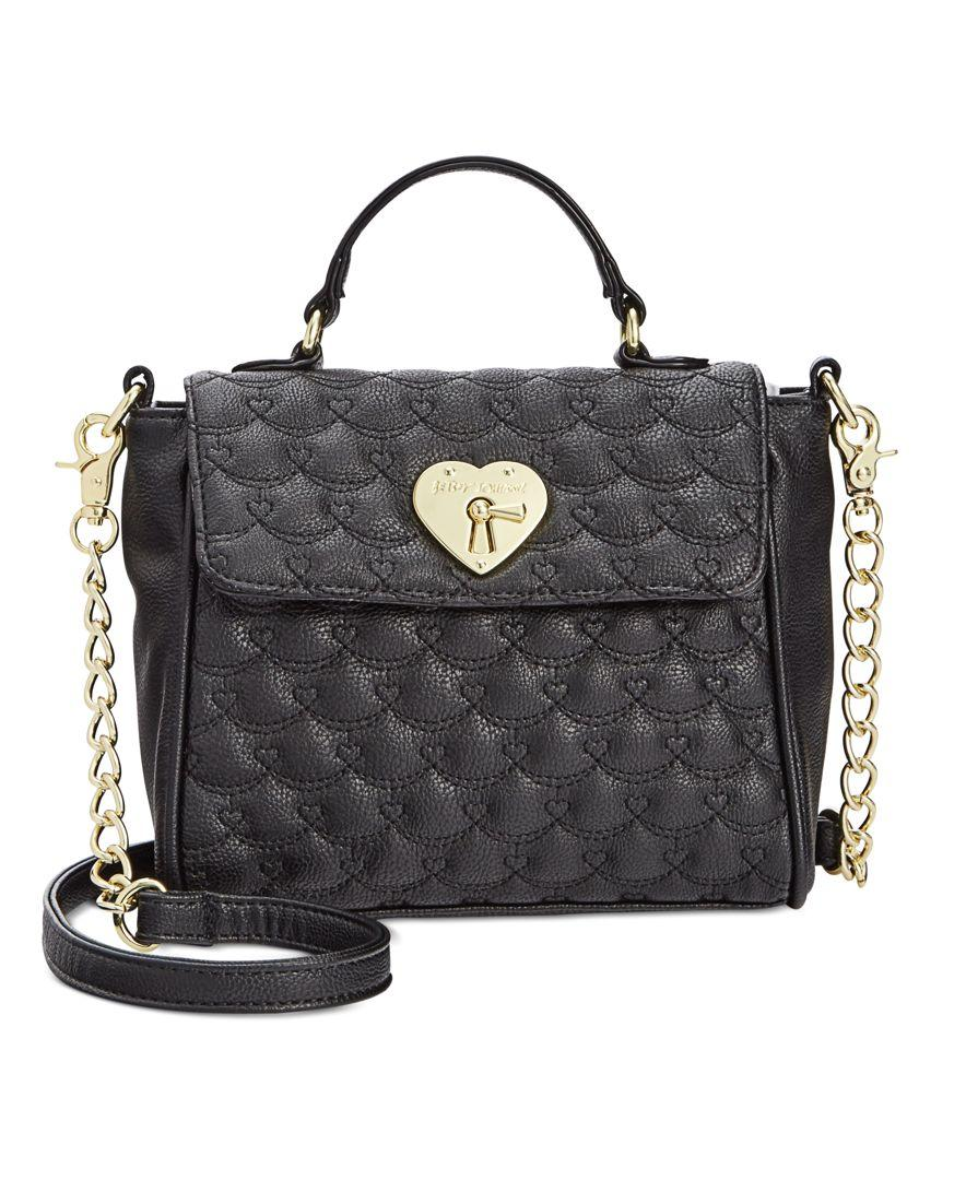 Betsey Johnson Top Handle Mini Bag Only At Macy S In