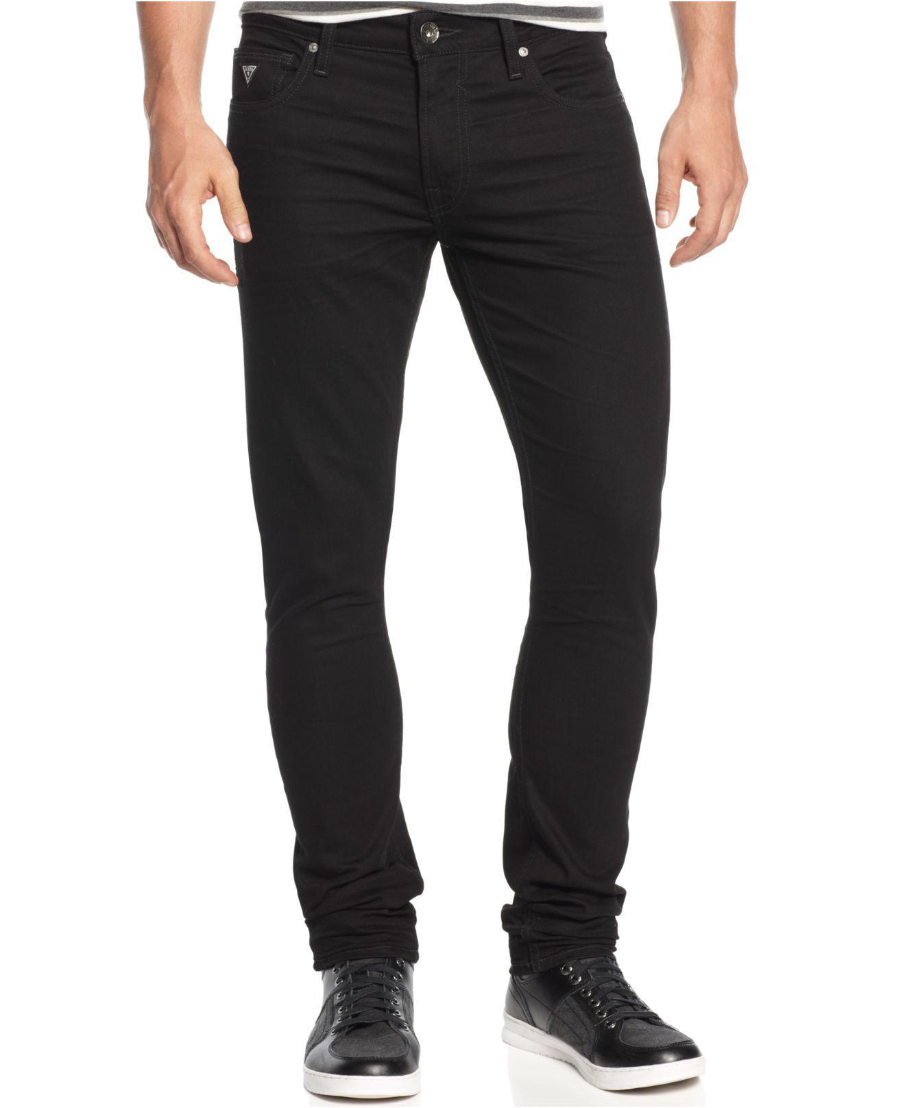 93cde5d0a69 Lyst - Guess Jailbreak-wash Skinny Jeans in Black for Men
