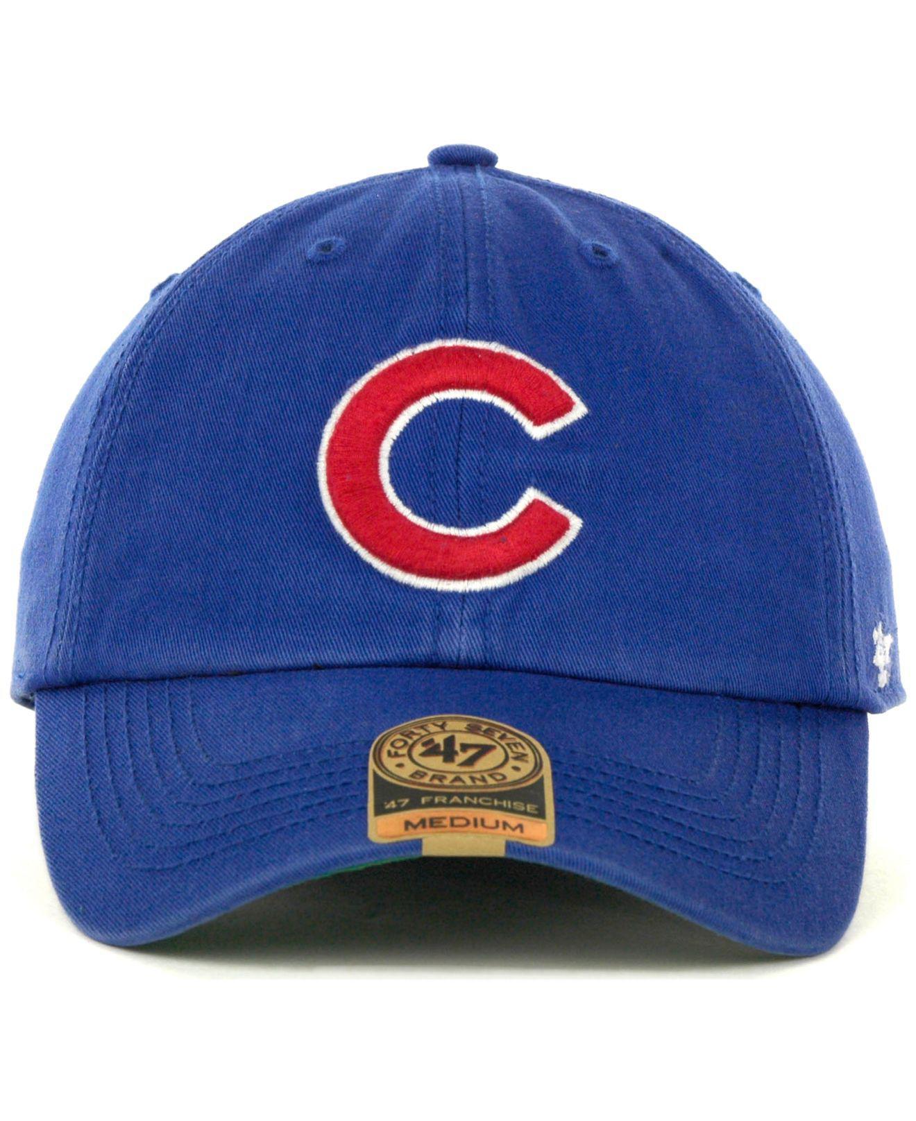 81dfb7c36c5 ... france lyst 47 brand chicago cubs franchise cap in green for men 39e66  e87e8