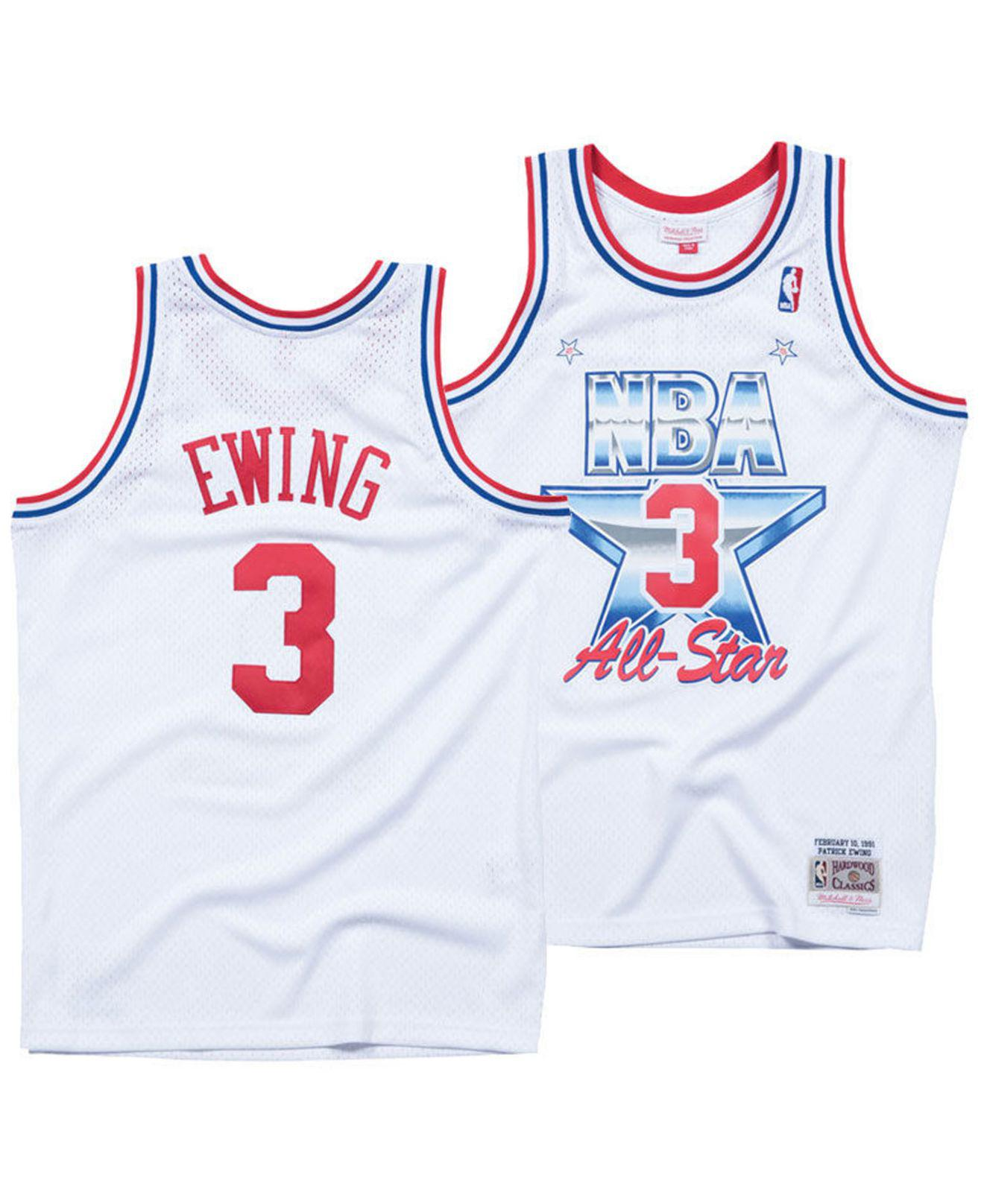 09d6b228f Lyst - Mitchell   Ness Patrick Ewing Nba All Star 1991 Swingman ...