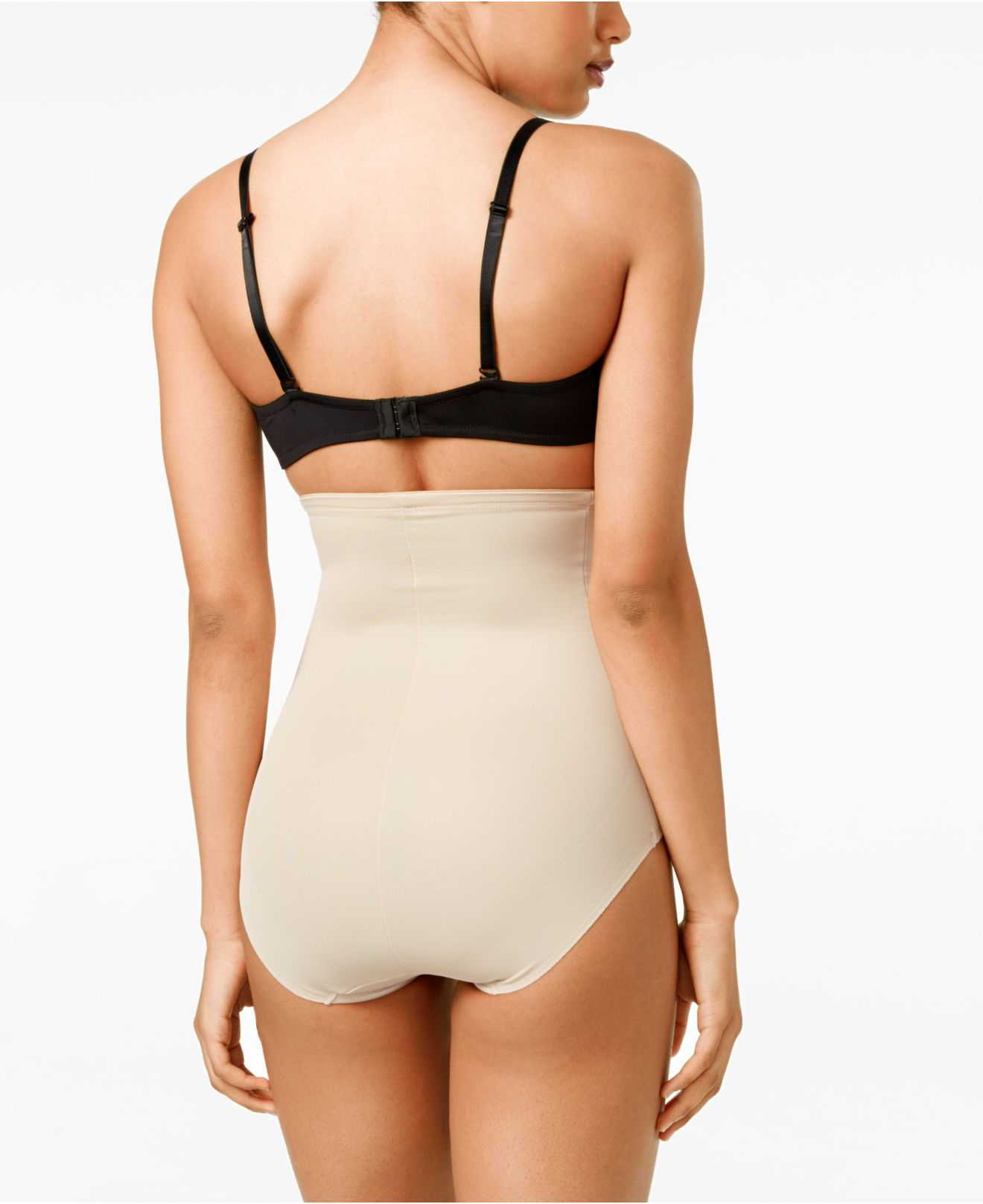 Miraclesuit Shapewear 2405 Womens Nude Solid Colour High Waist Brief